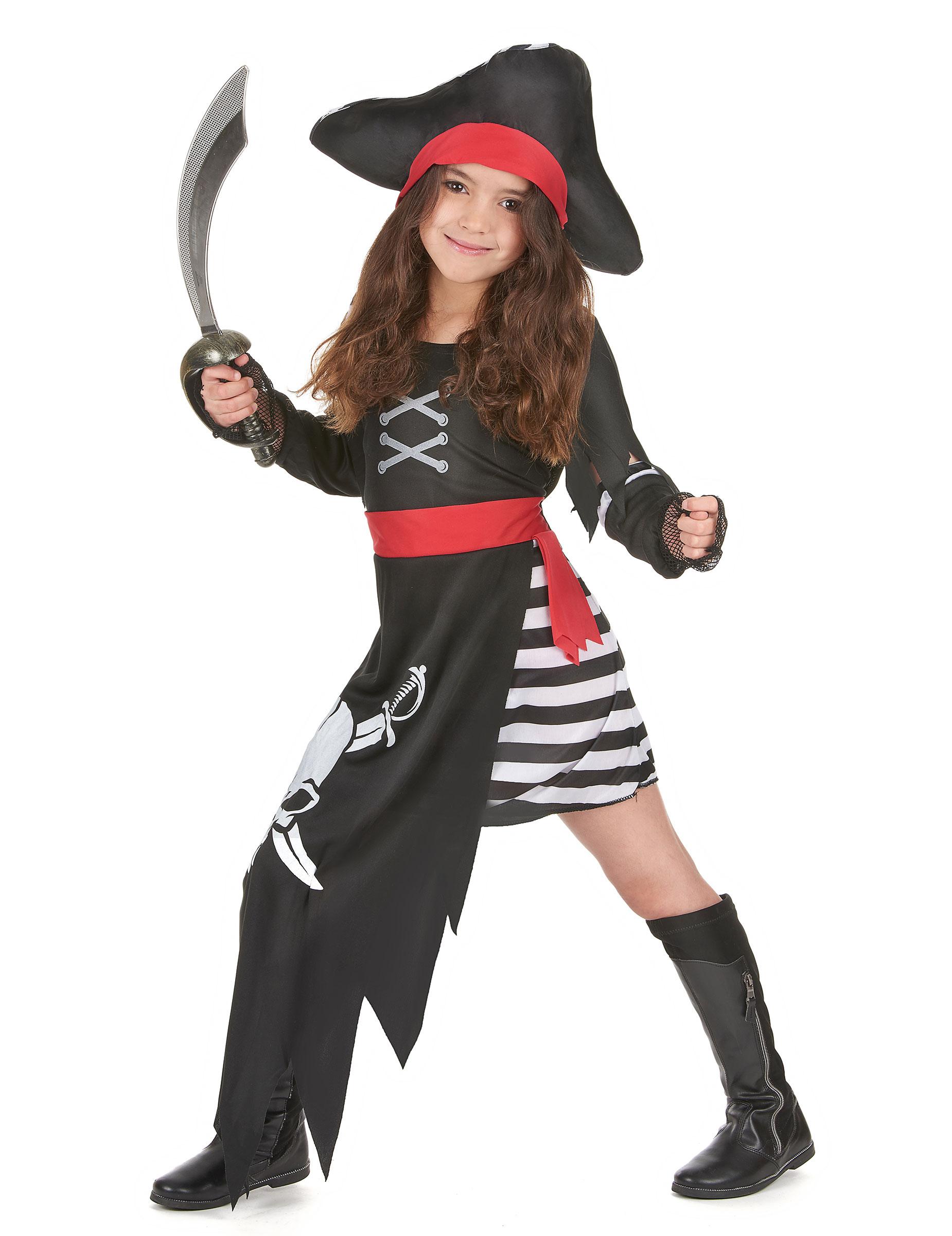 D guisement pirate fille petit prix d - Deguisement halloween enfant ...