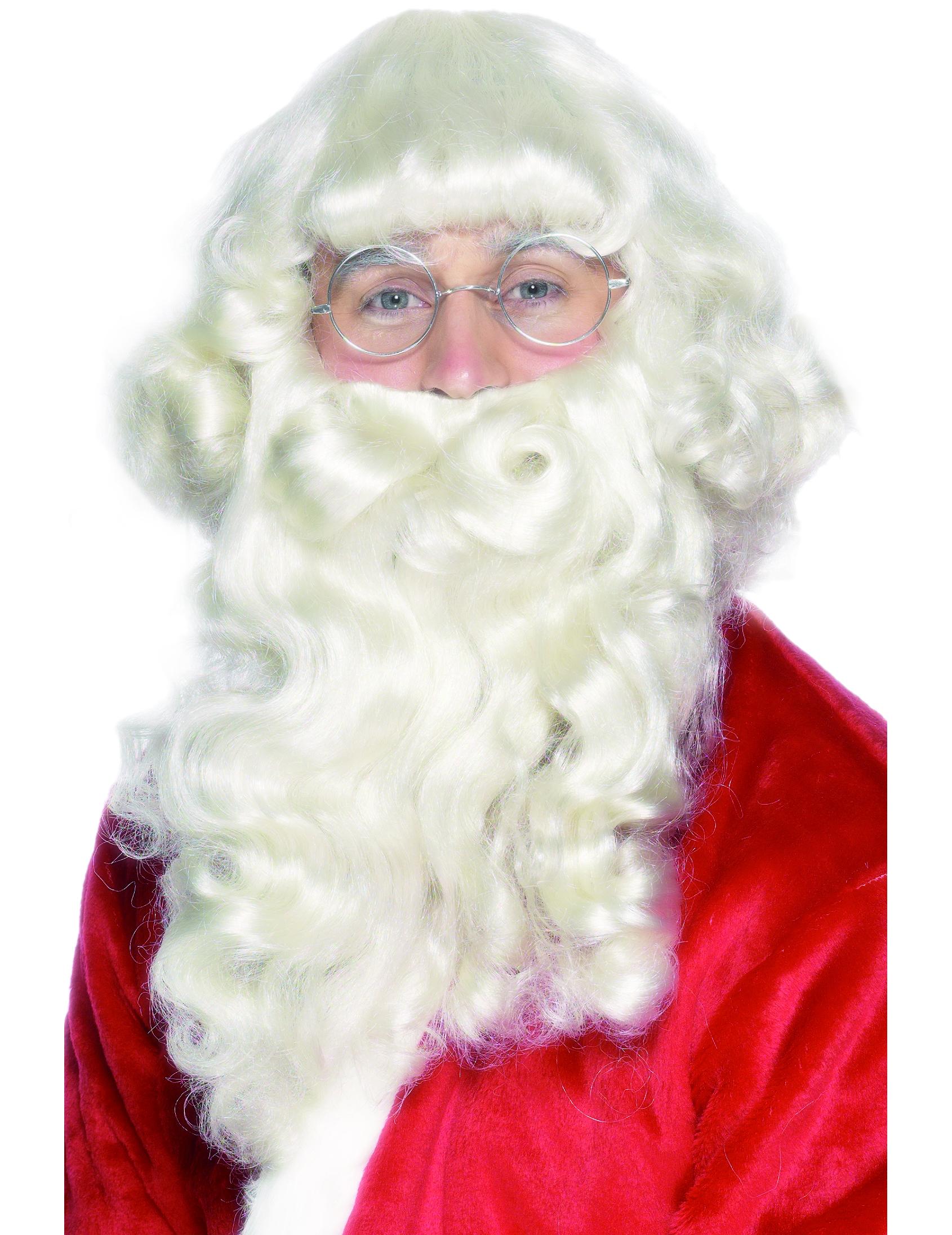 8aeb9c7b5f16f1 Barbe et perruque Père Noël adulte   Deguise-toi, achat de Accessoires