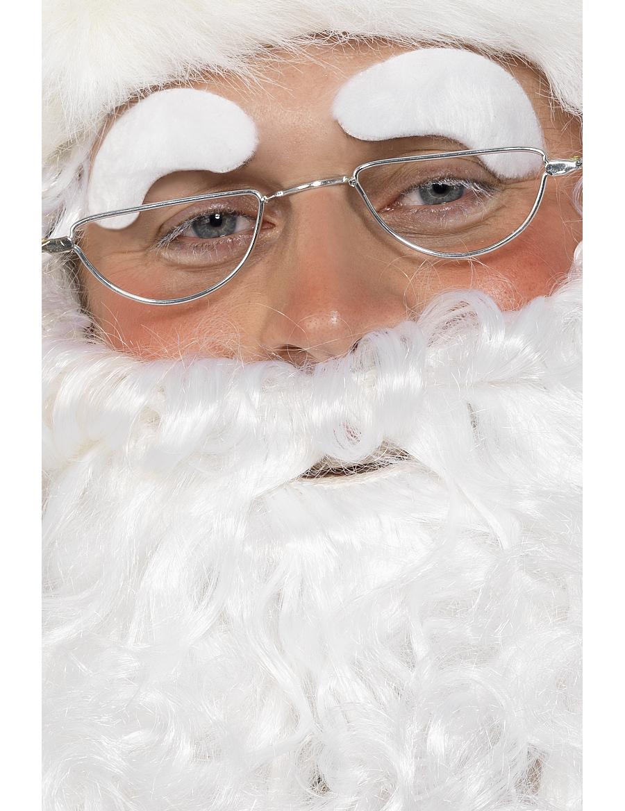 db38377f1460f3 Lunettes Père Noël adulte en métal   Deguise-toi, achat de Accessoires