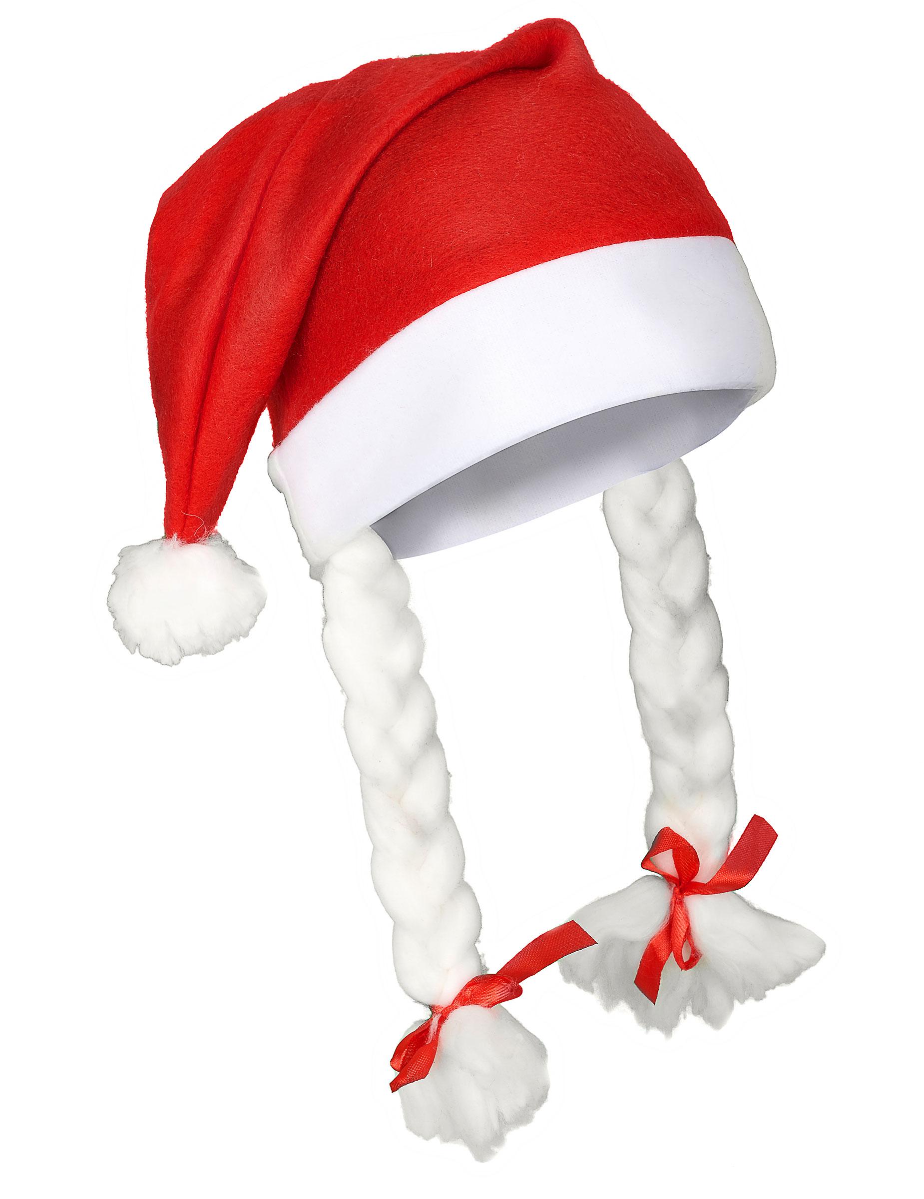 Bonnet de Mère-Noël adulte : Deguise-toi, achat de Chapeaux