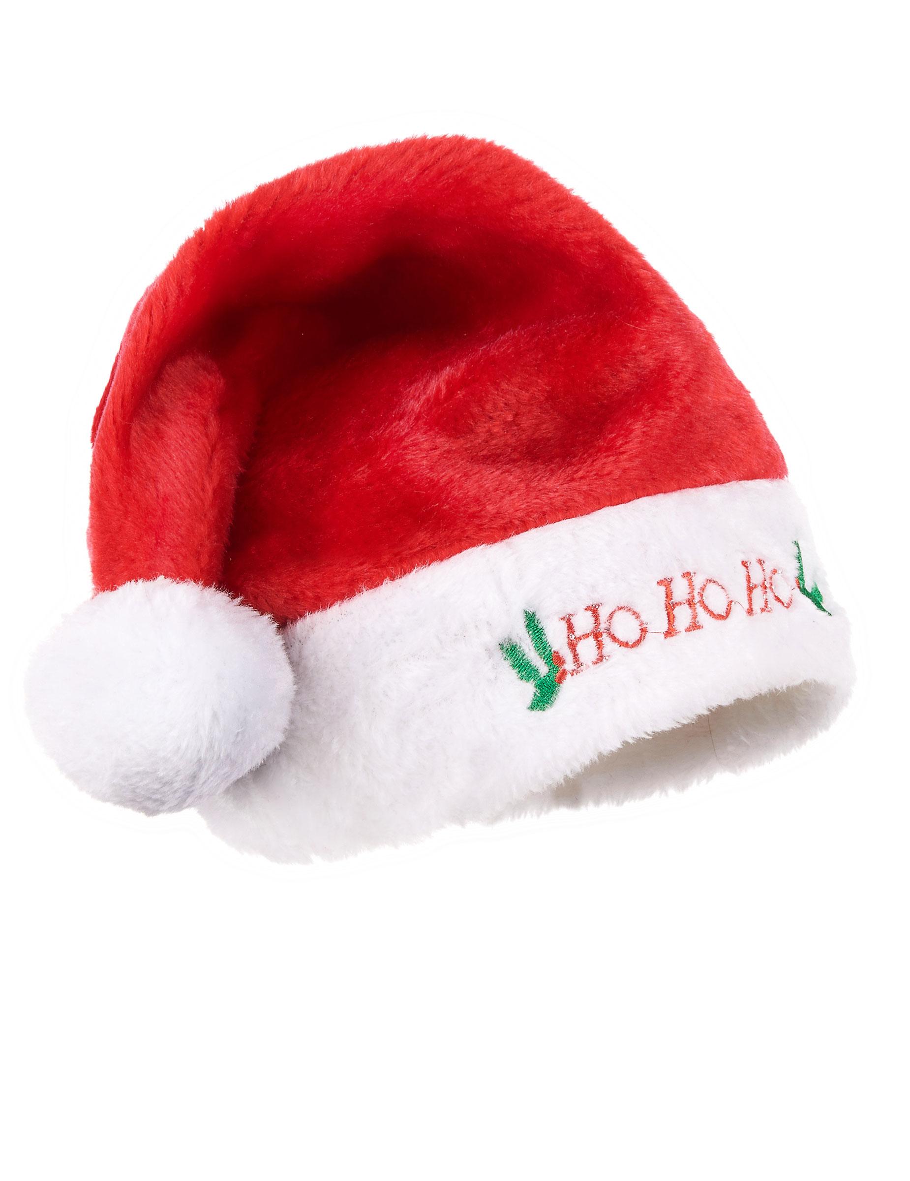 Plush christmas hat hats and fancy dress costumes vegaoo