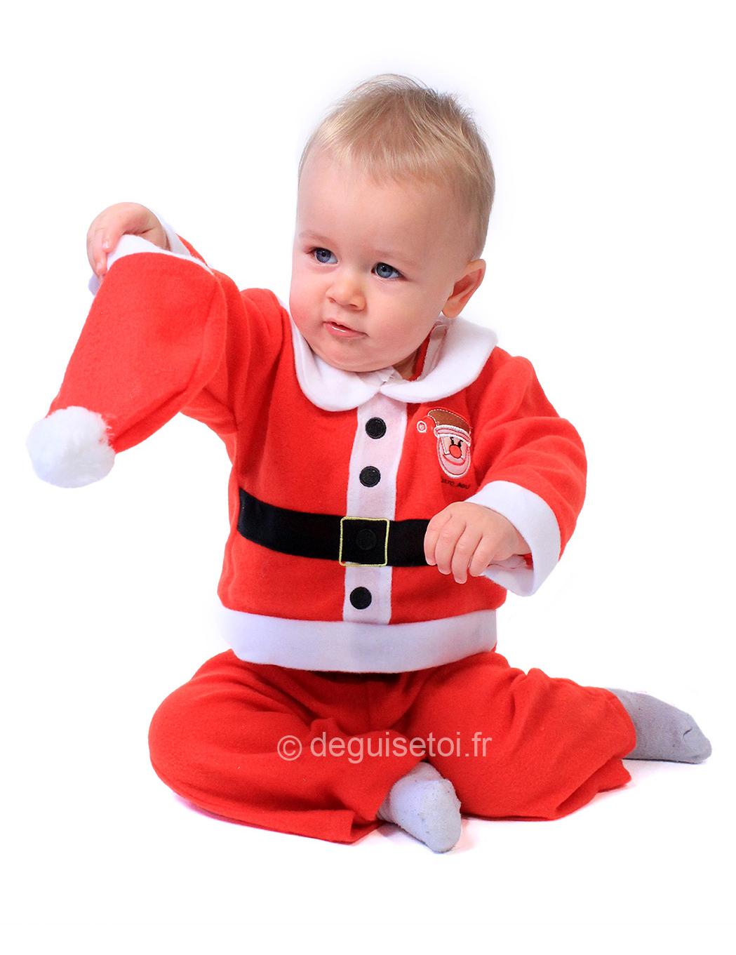 c5cdbbbb14b9f Déguisement Père Noël complet bébé   Deguise-toi