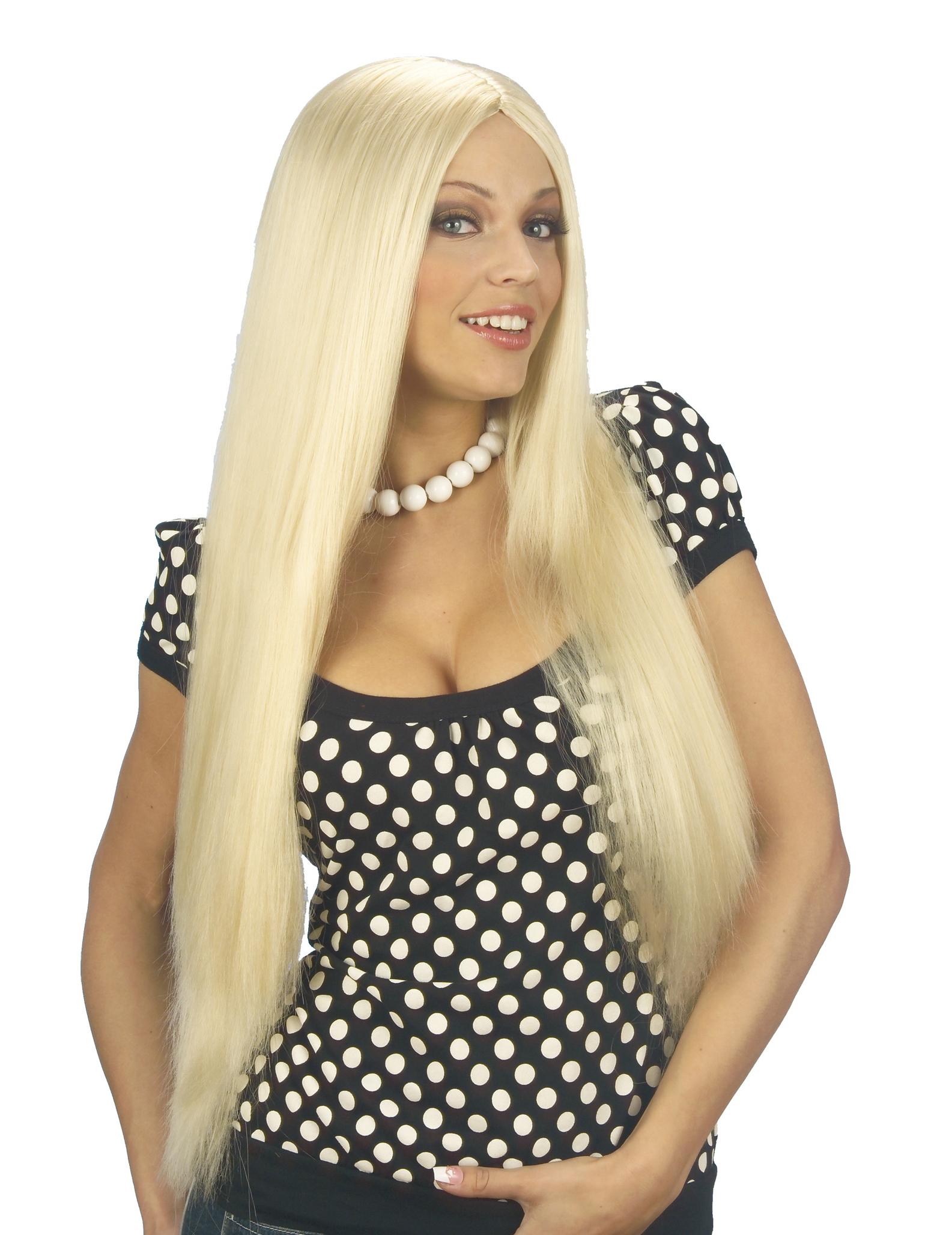 Blonde sur cheveux long