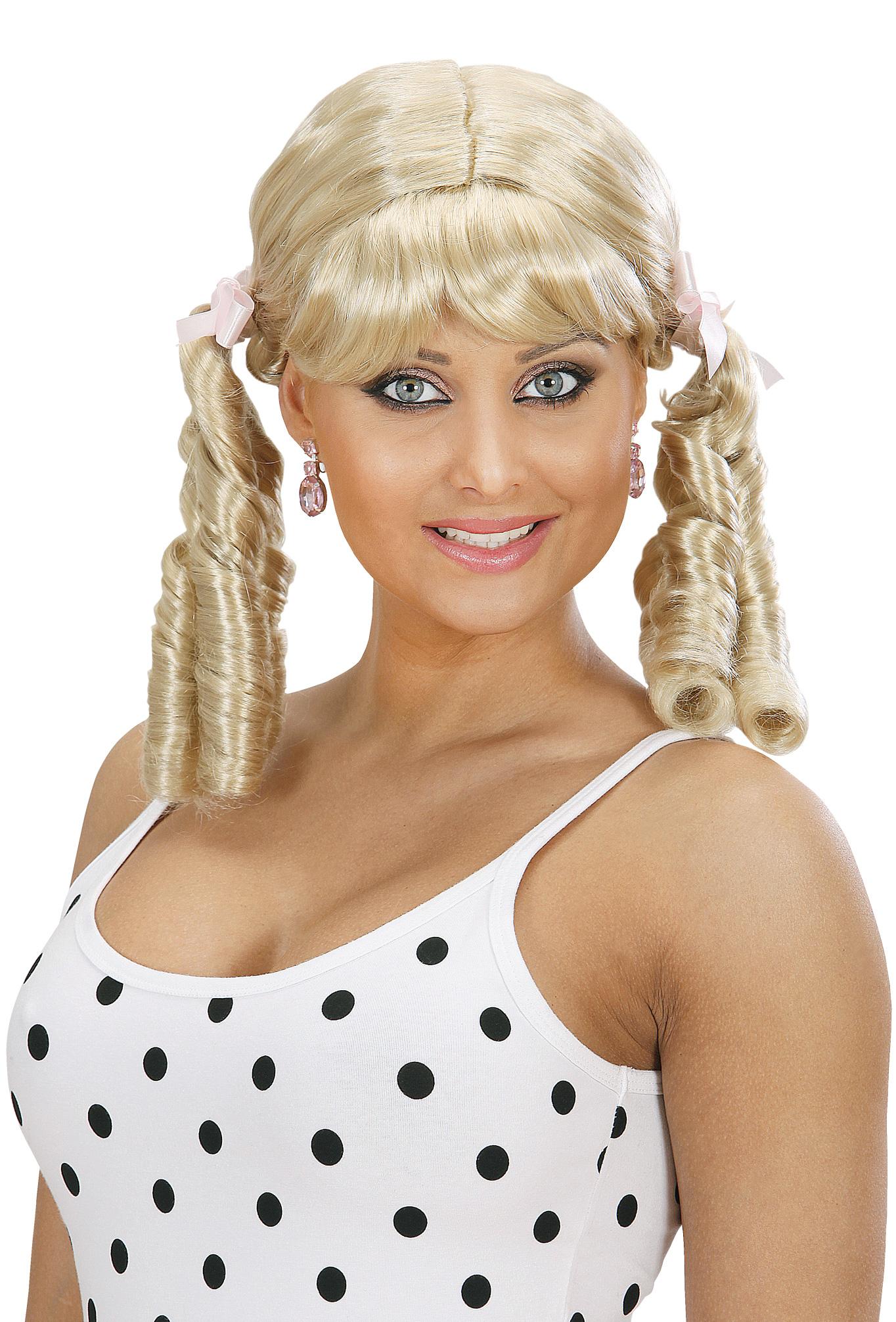 perruque blonde lolita femme   deguise
