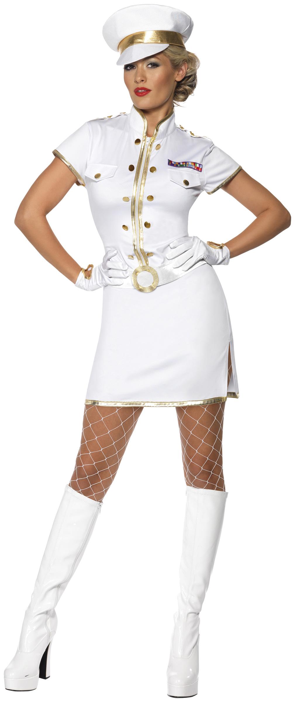 photo déguisement femme navy
