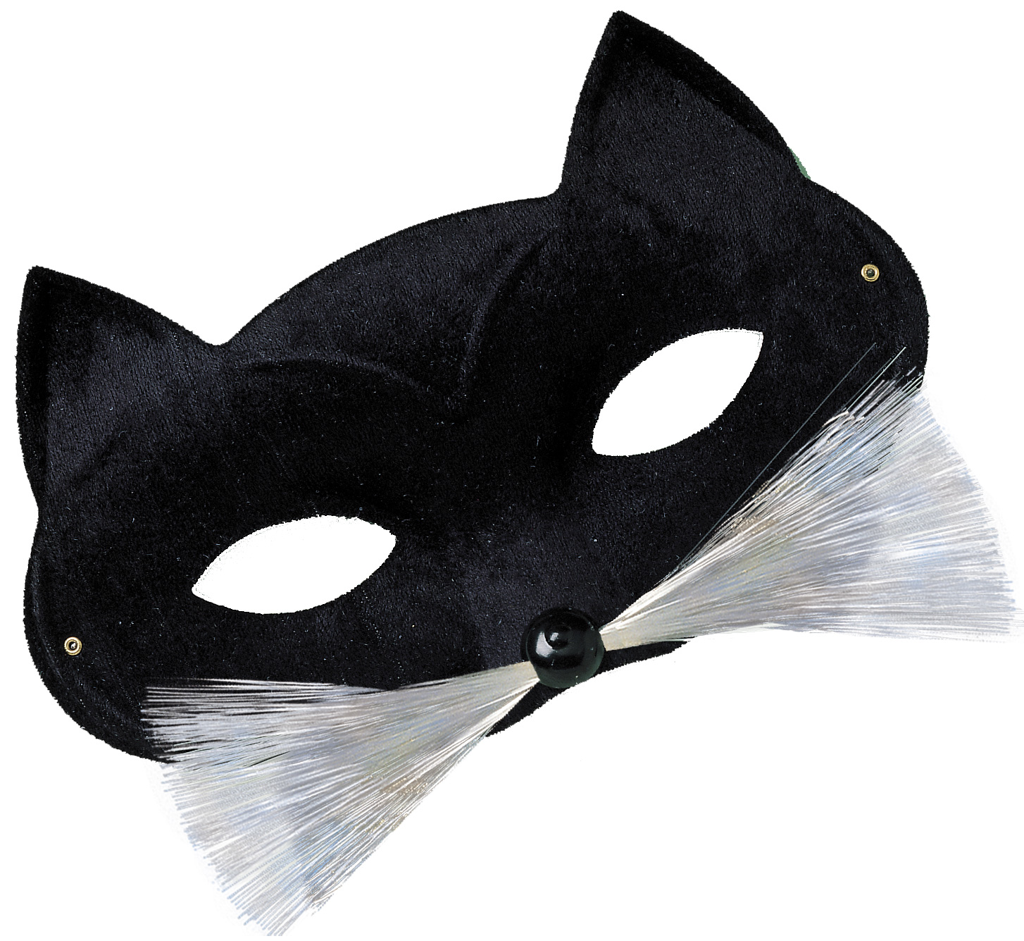 Black cat masquerade mask : Masks, and fancy dress costumes - Vegaoo