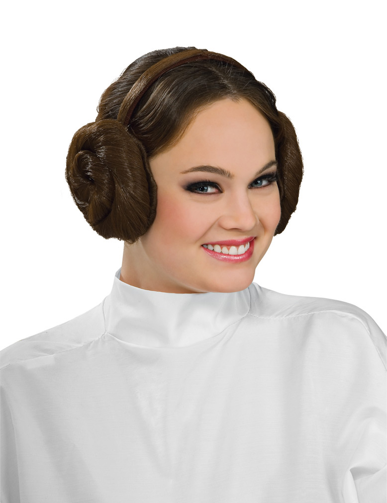 coiffure princesse leia organa star wars femme deguise. Black Bedroom Furniture Sets. Home Design Ideas