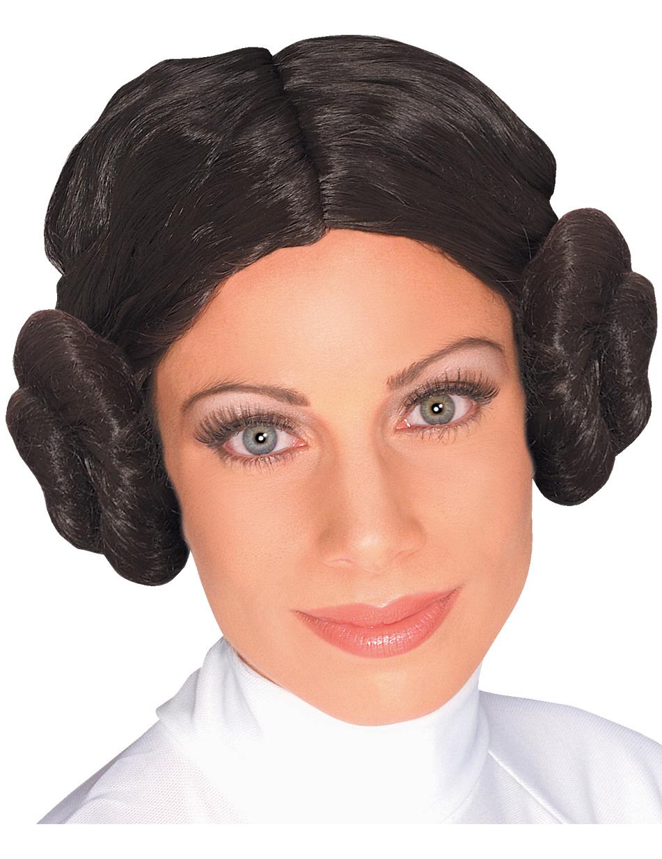Perruque Princesse Leia Star Wars™ femme