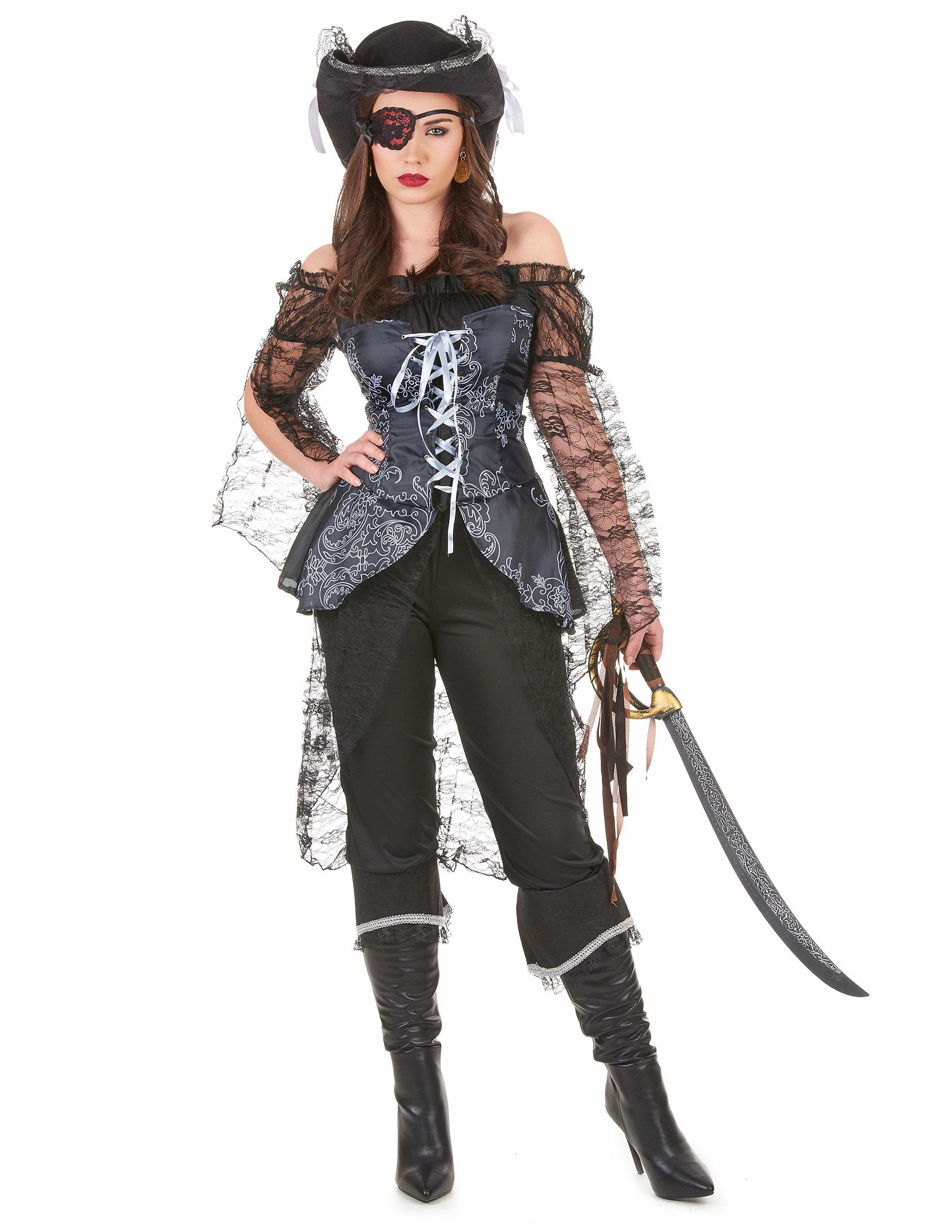 36cf2e5aeb0 Costume Pirate Femme & COSTUME PIRATE FEMME Sc 1 St Magasin La Fête