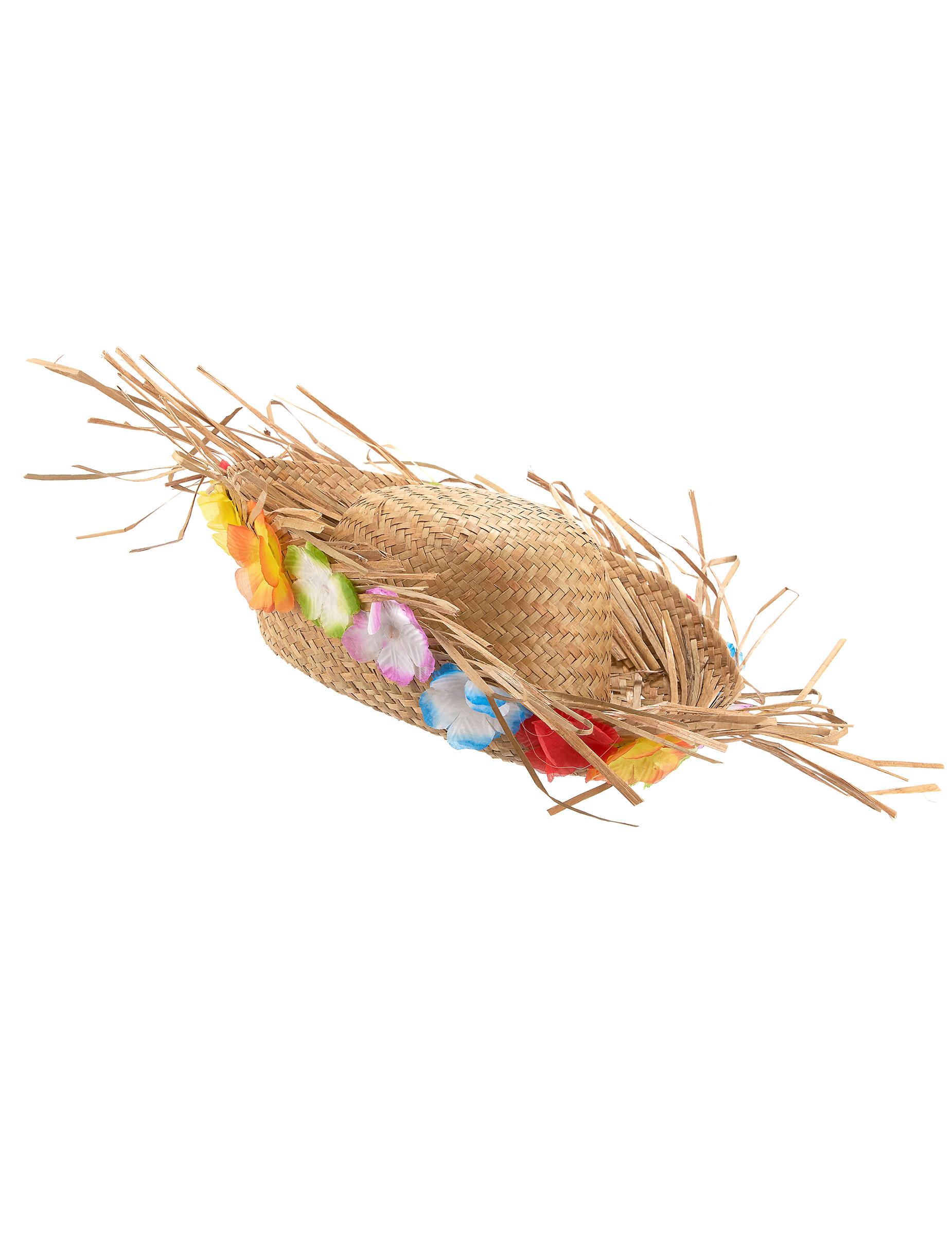 de1f788bae9d Chapeau de paille Hawaï   Deguise-toi, achat de Chapeaux
