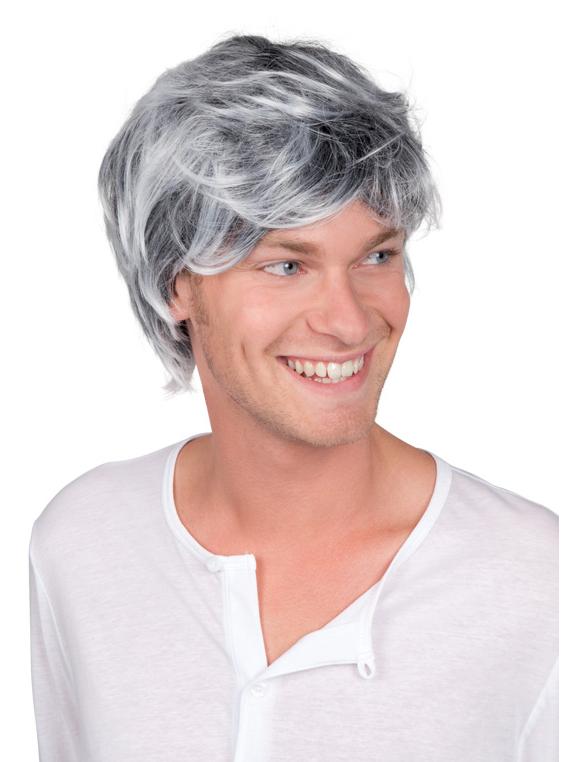 Perruque grisonnante homme : Deguise-toi,