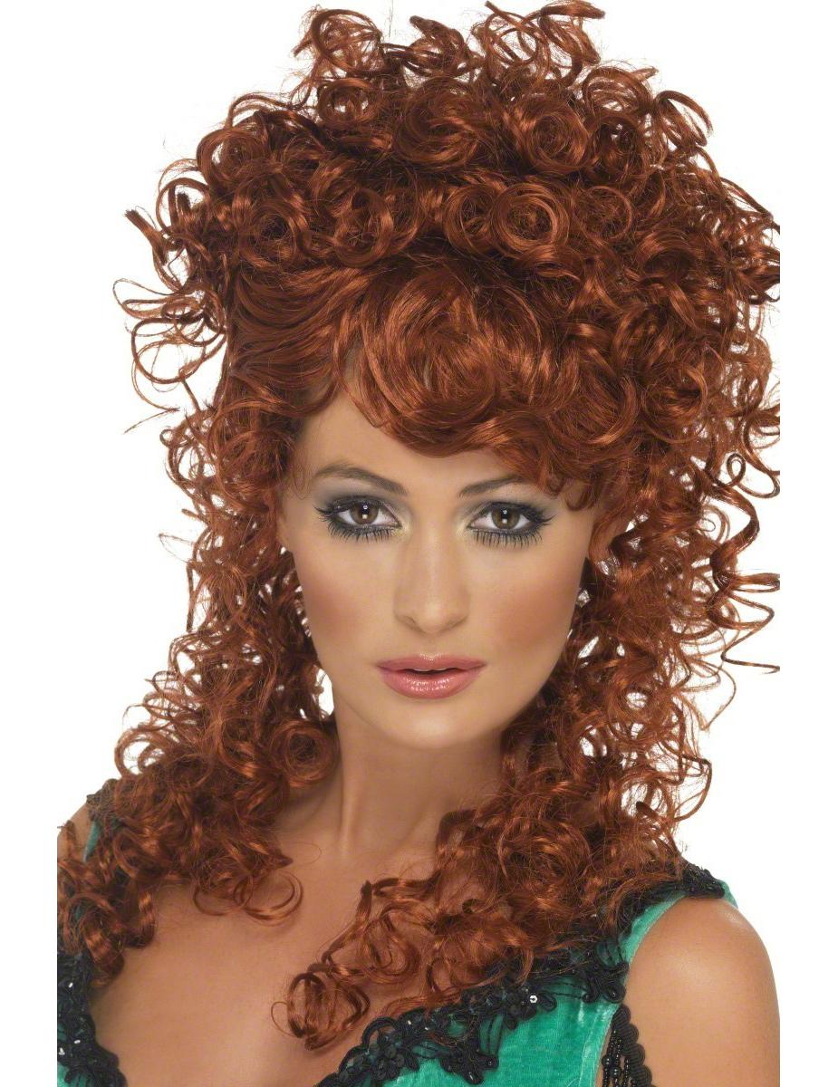 Perruque frisée rousse femme : Deguise-toi,