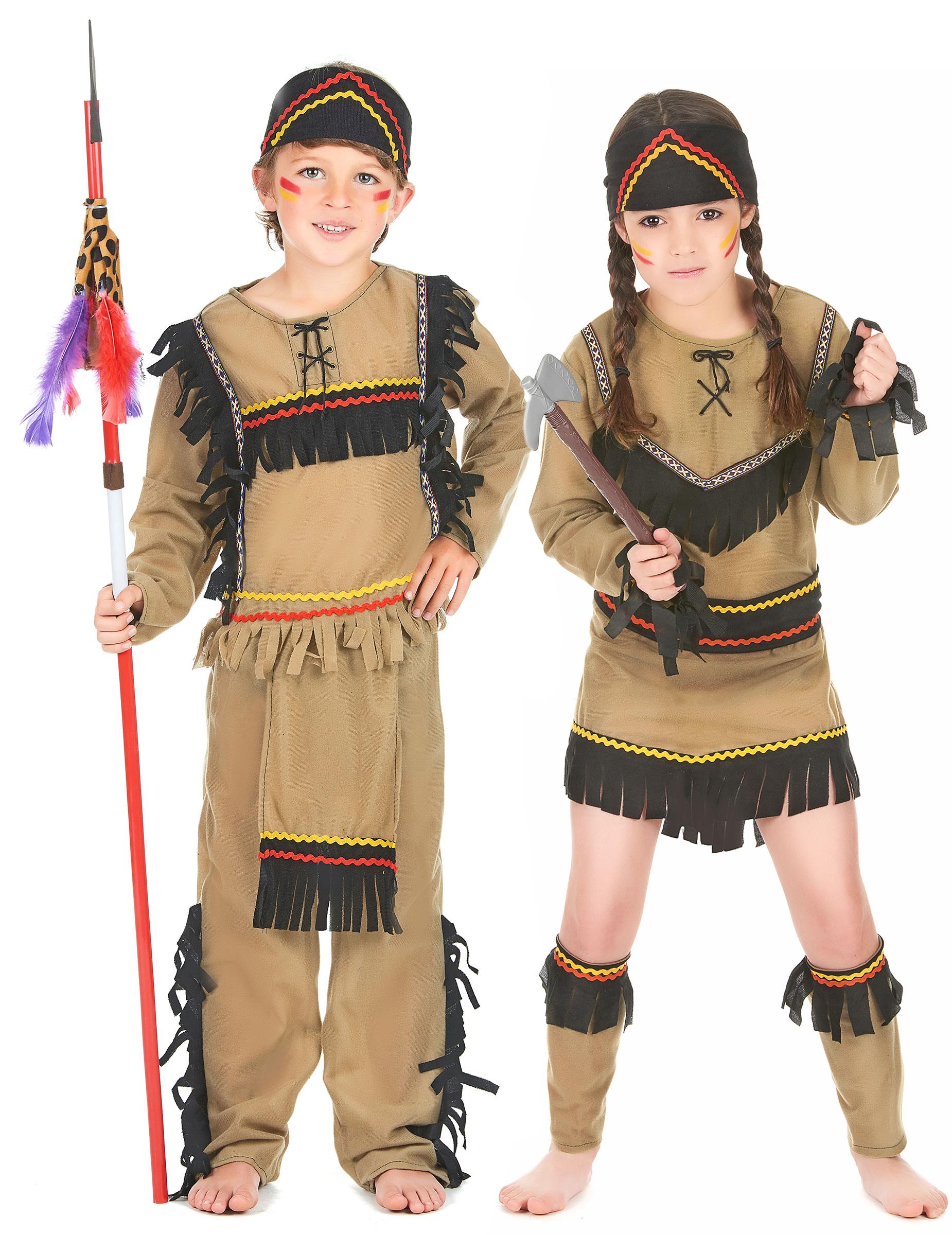 dc951a336ec9 Déguisement couple indiens enfants   Deguise-toi, achat de ...