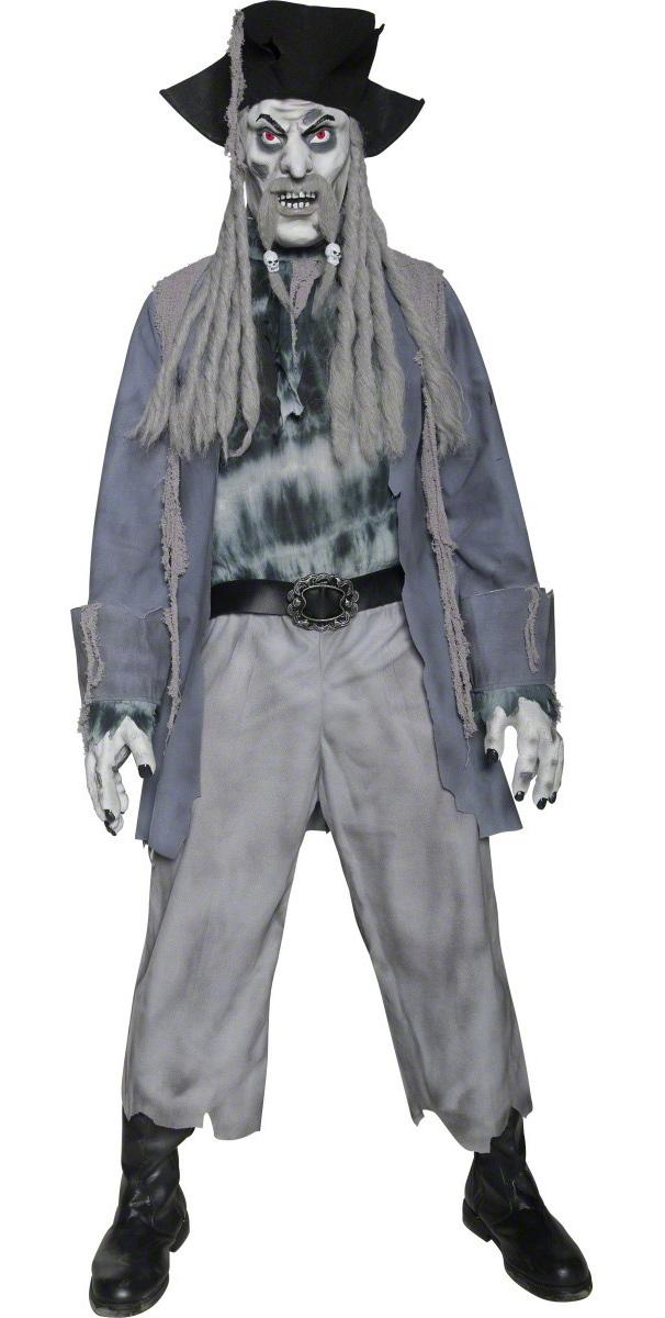 d guisement pirate zombie homme halloween. Black Bedroom Furniture Sets. Home Design Ideas