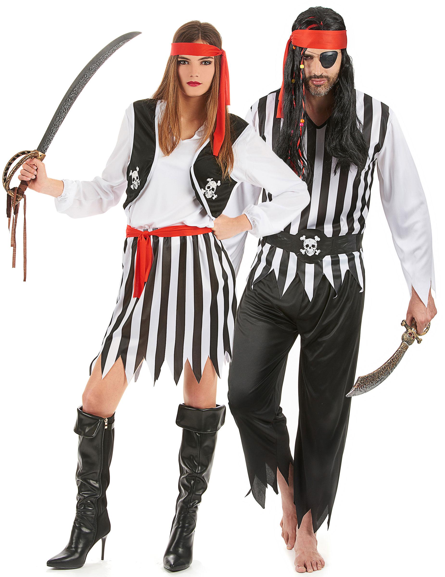 d guisement couple pirates deguise toi achat de d guisements couples. Black Bedroom Furniture Sets. Home Design Ideas