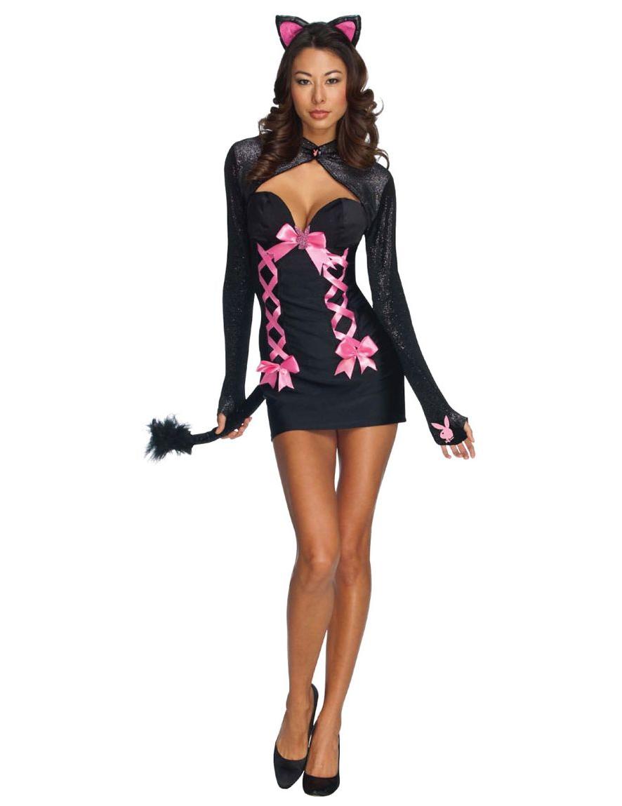 Disfraces adultos - Disfraz de gatita sexy de Playboy™ para mujer
