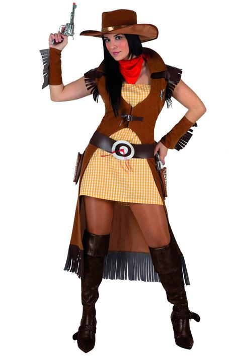 déguisement femme western