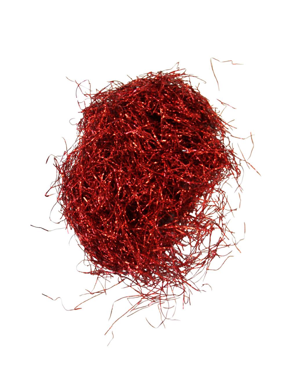 Engelshaare in rot - Weihnachtsdeko rot ...