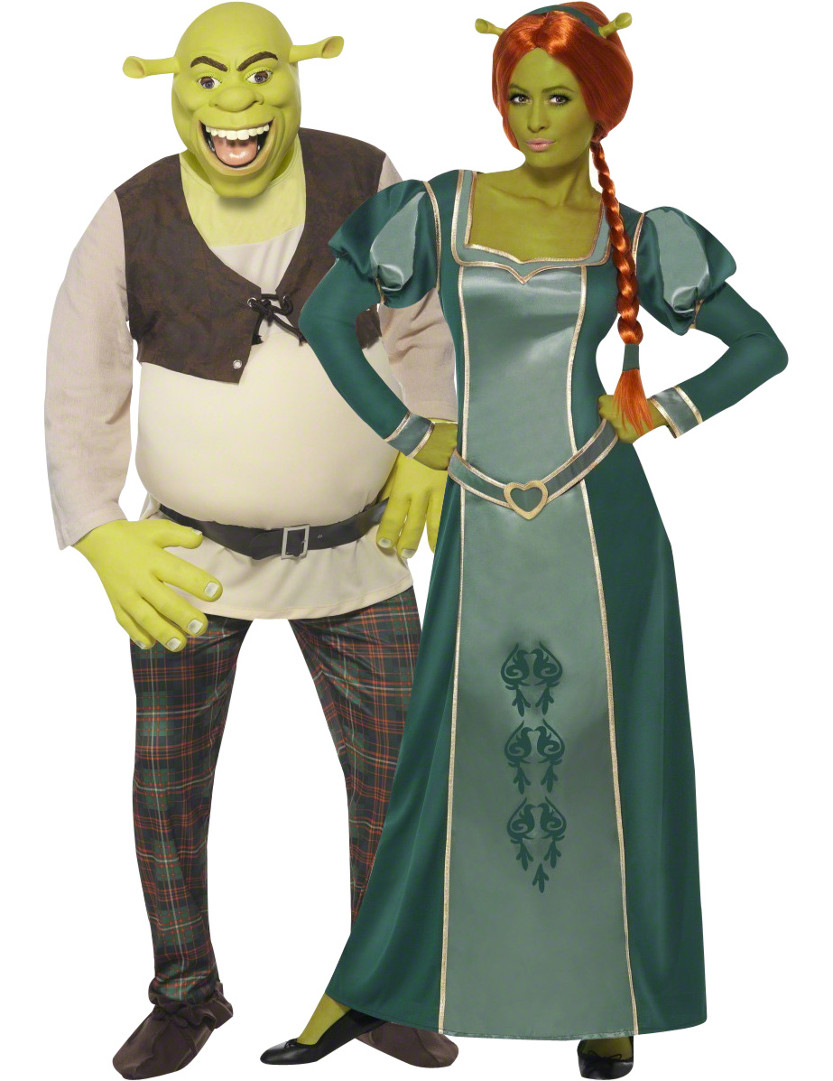 d guisement de couple shrek et fiona. Black Bedroom Furniture Sets. Home Design Ideas