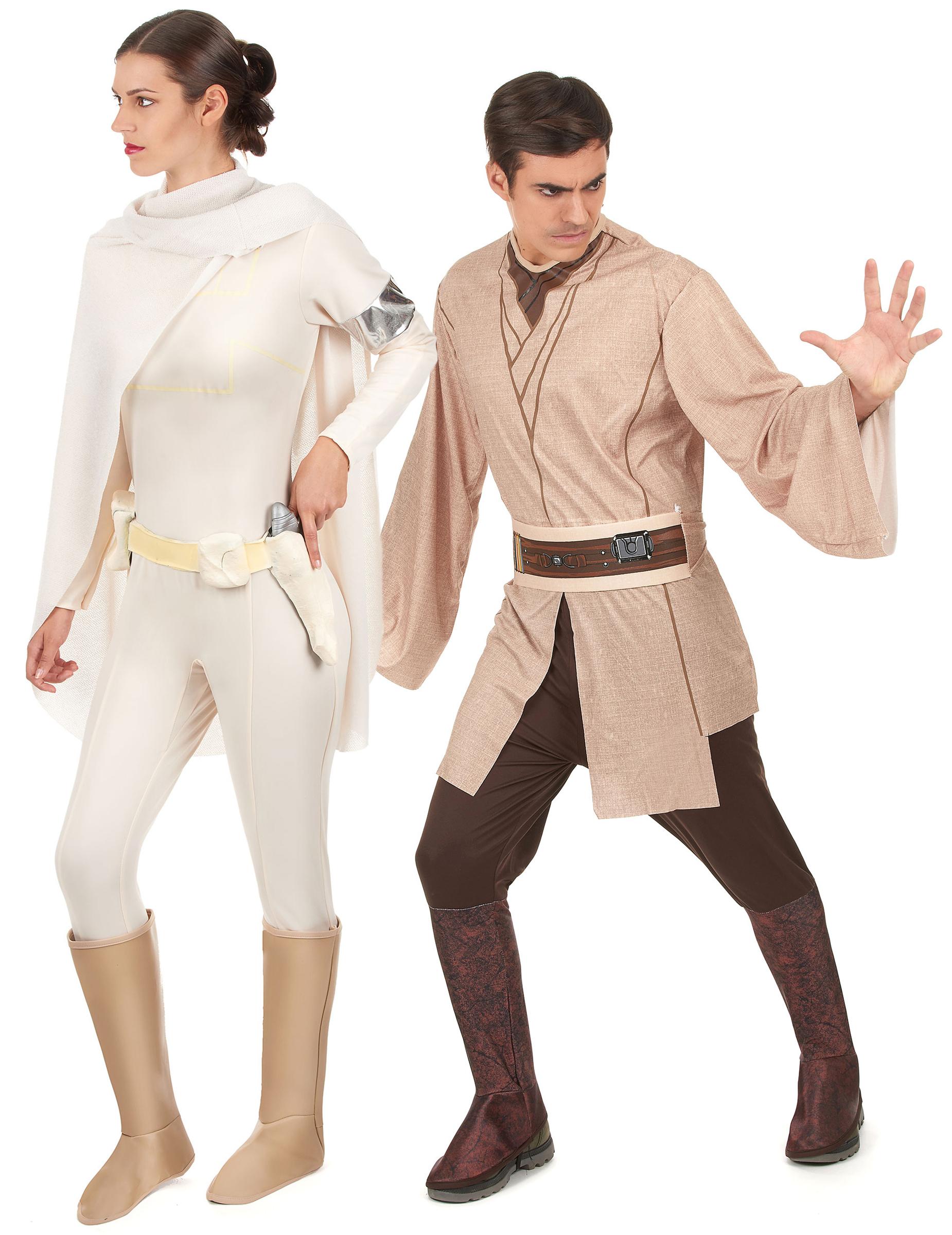 D guisement de couple jedi et amidala star wars - Deguisement en o ...