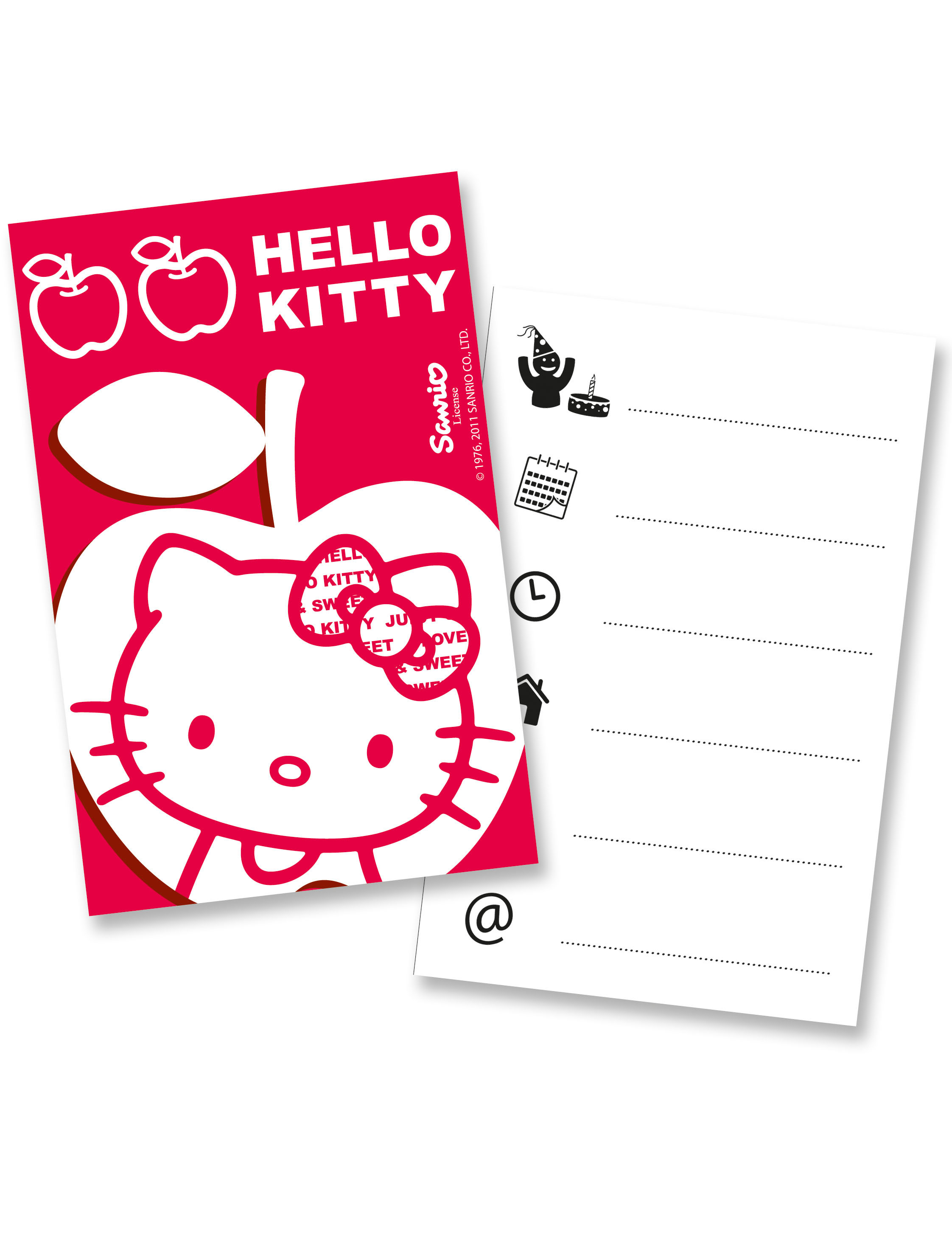 hello kitty invitation card hello kitty theme invitations hello main decorations hello kitty apple invitation cards