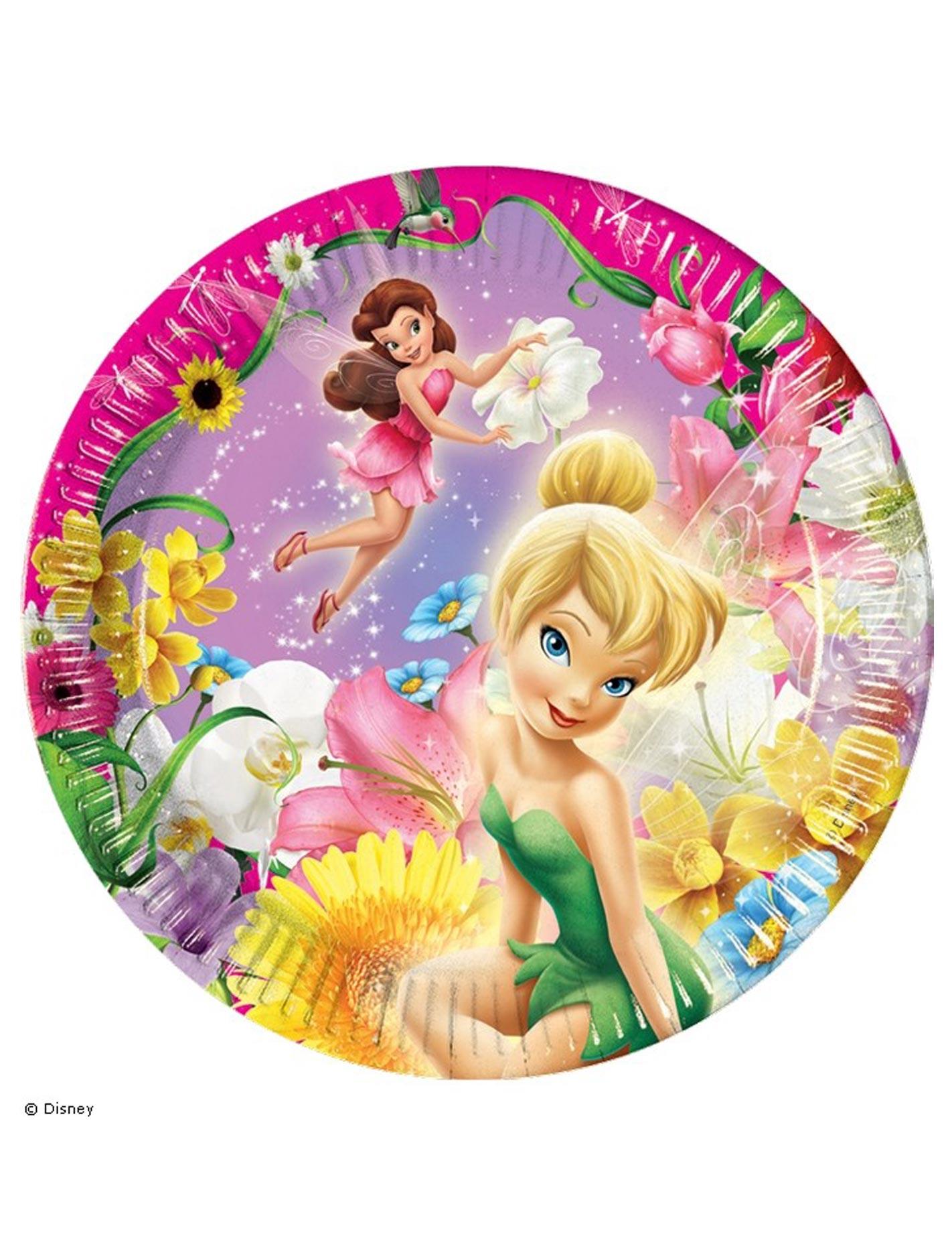 10 assiettes clochette et ses amies - Image de violetta et ses amies ...