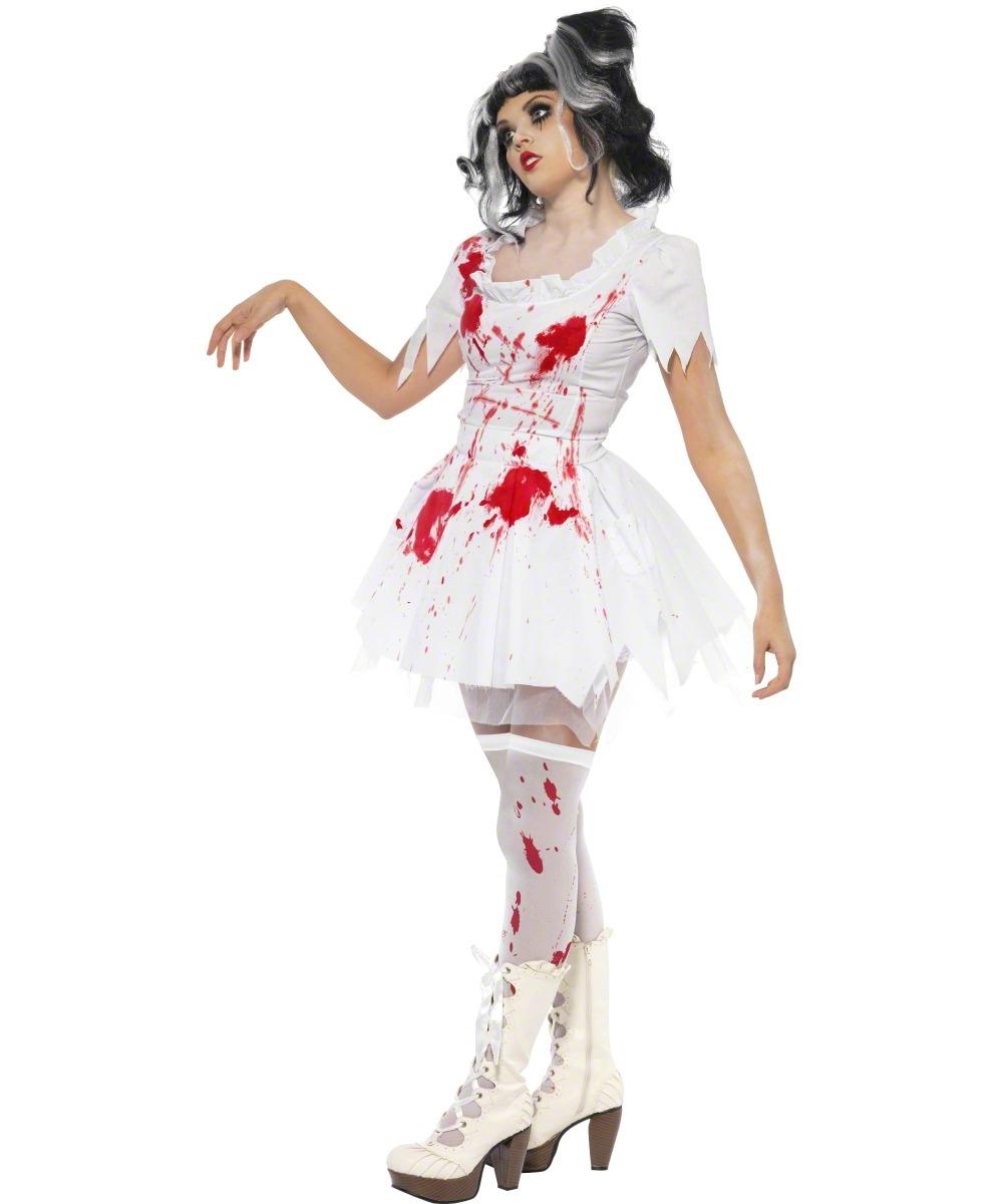 Deguisement halloween robe blanche