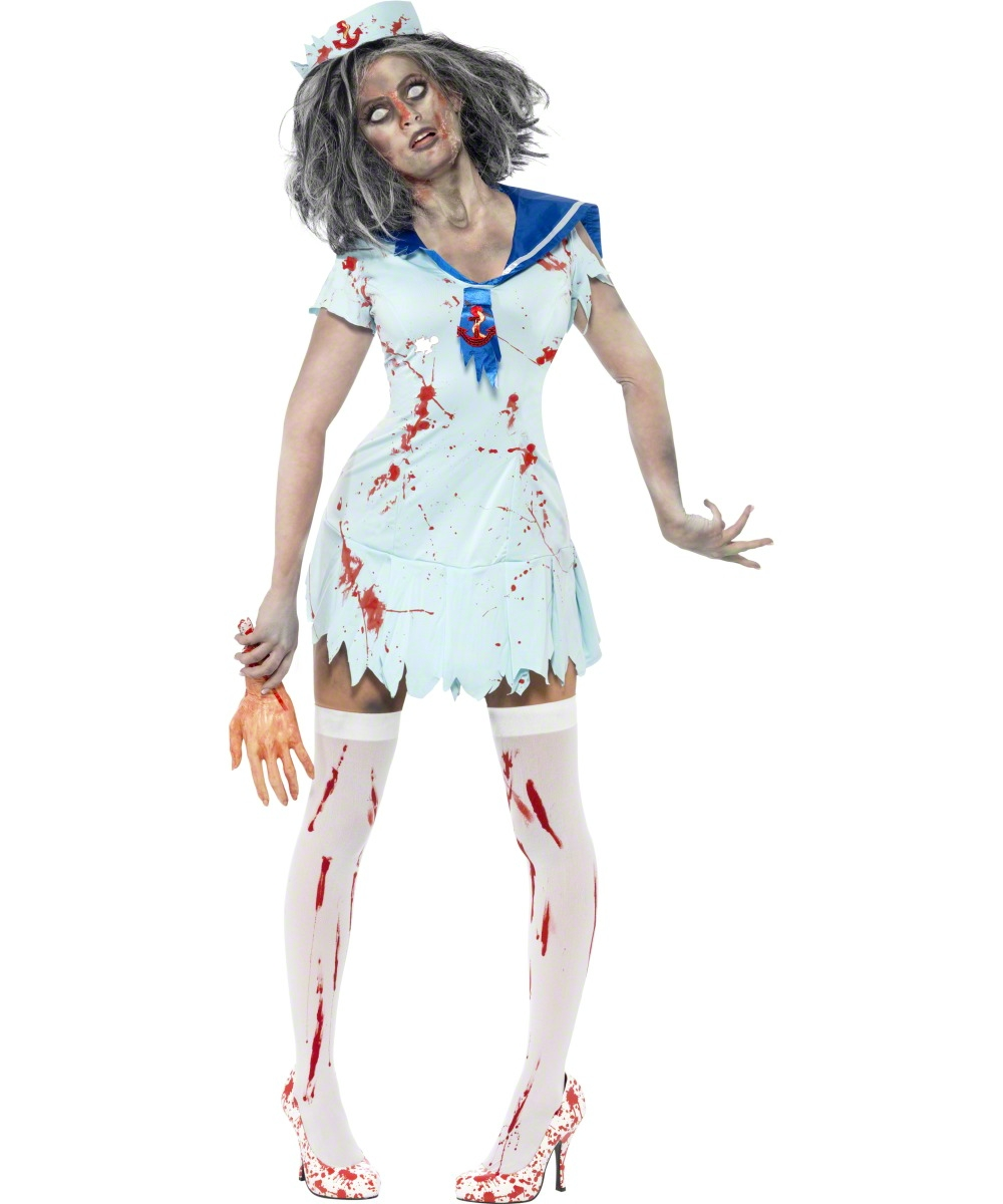 D guisement marin zombie - Deguisement zombie femme ...