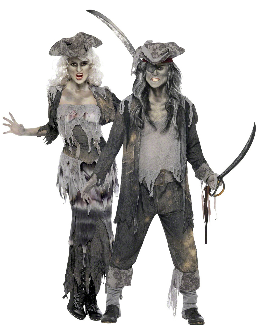 D guisement couple pirate - Fantome halloween ...