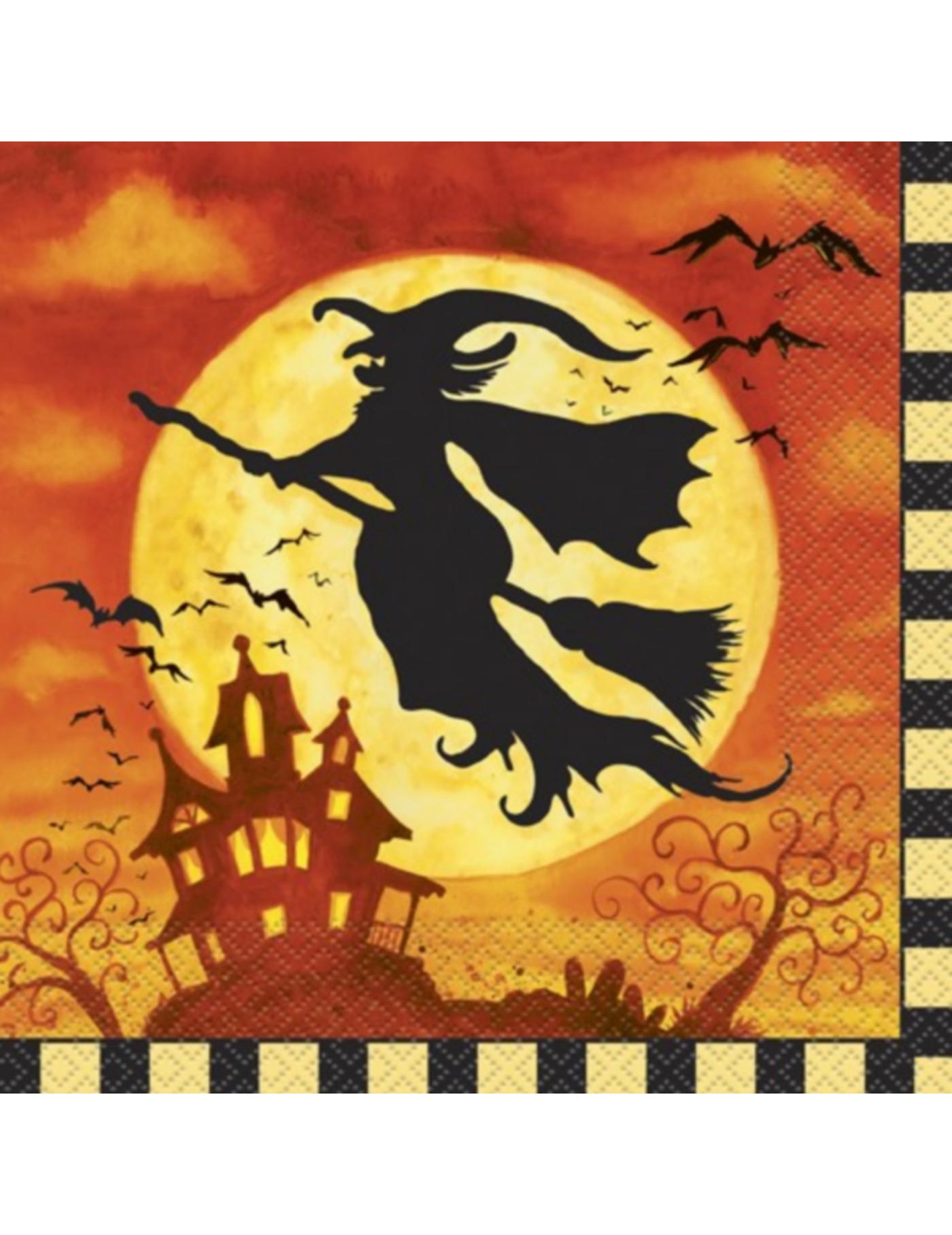 20 serviettes papier halloween - Deguisetoi fr halloween ...