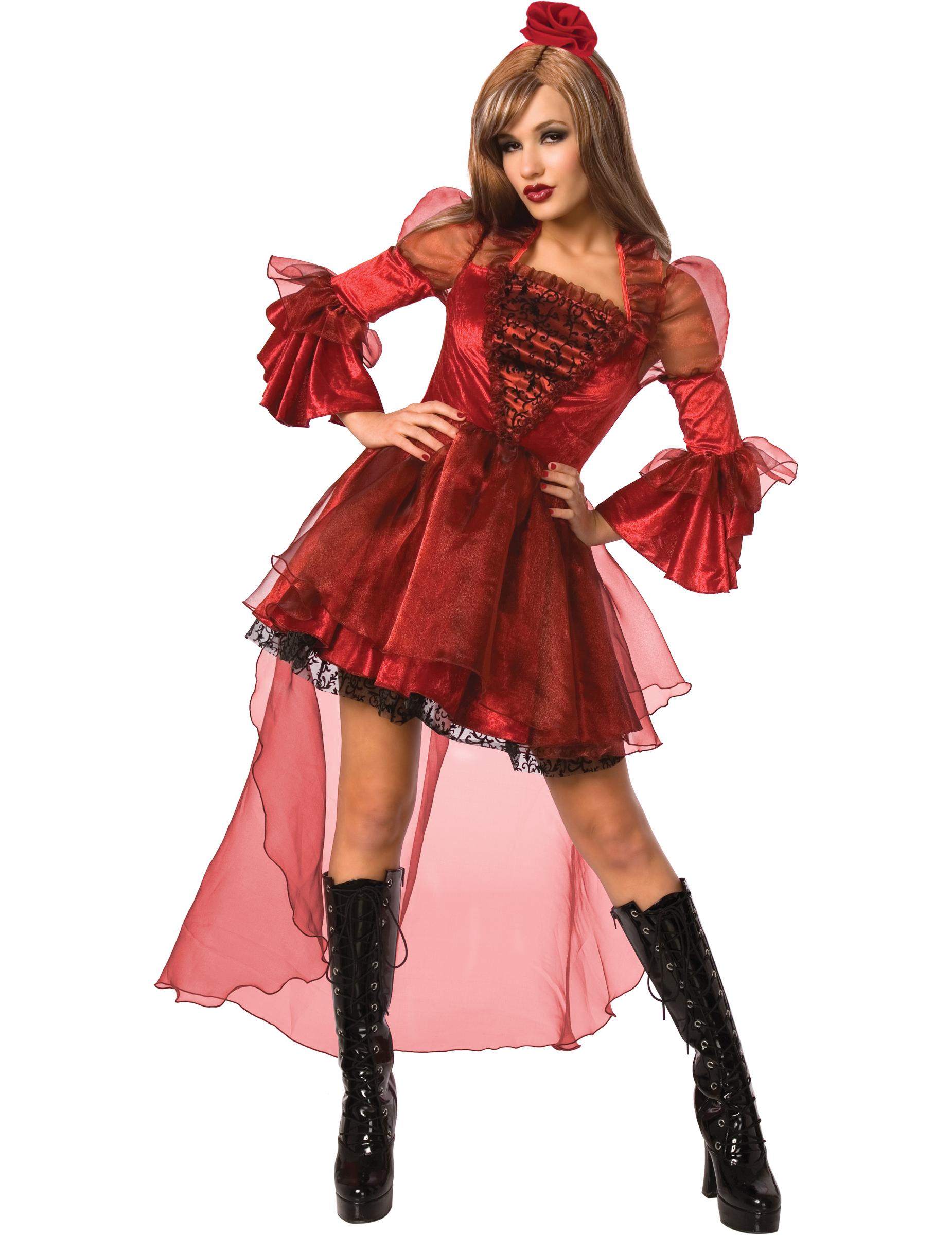 d guisement princesse sexy gothique rouge femme deguise toi achat de d guisements adultes. Black Bedroom Furniture Sets. Home Design Ideas