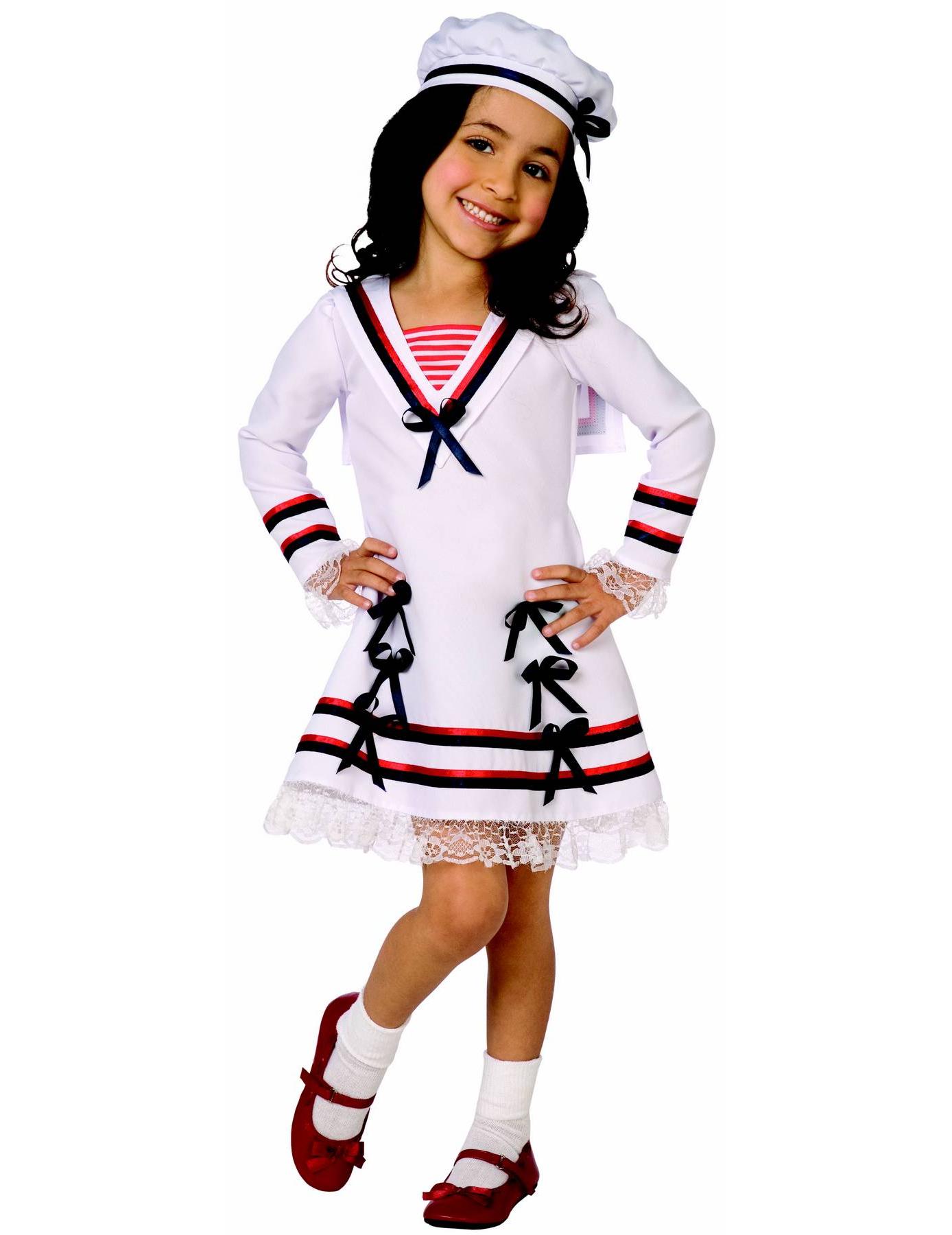 Disfraz de marinero para niña
