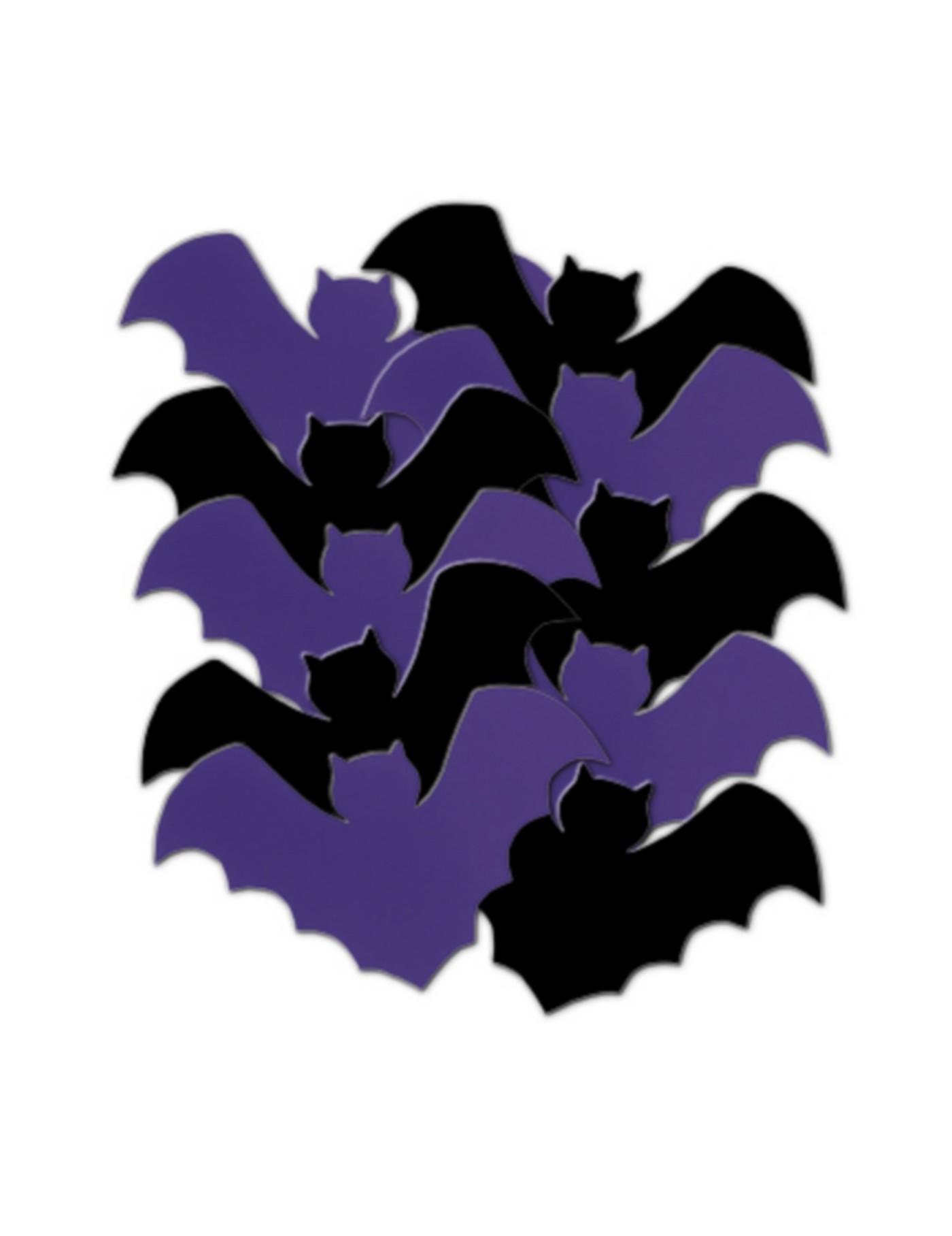 D corations de table chauve souris halloween for Deco halloween chauve souris