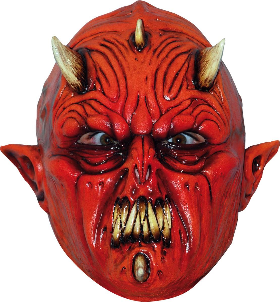 The Devil S Music De Maskers: Masque Monstre Démoniaque Adulte Halloween