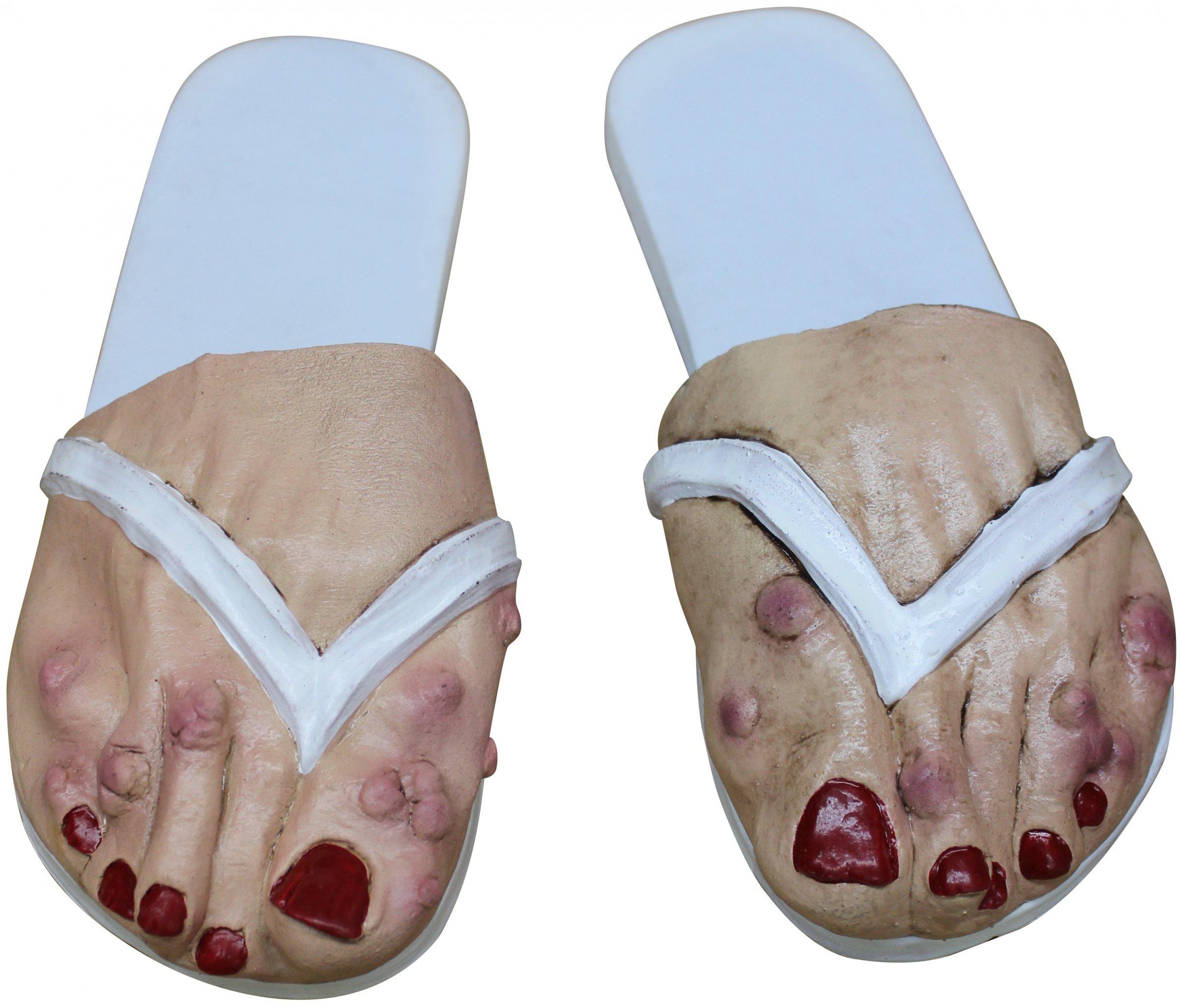 sur chaussures pied femme adulte blanc halloween deguise toi achat de accessoires. Black Bedroom Furniture Sets. Home Design Ideas