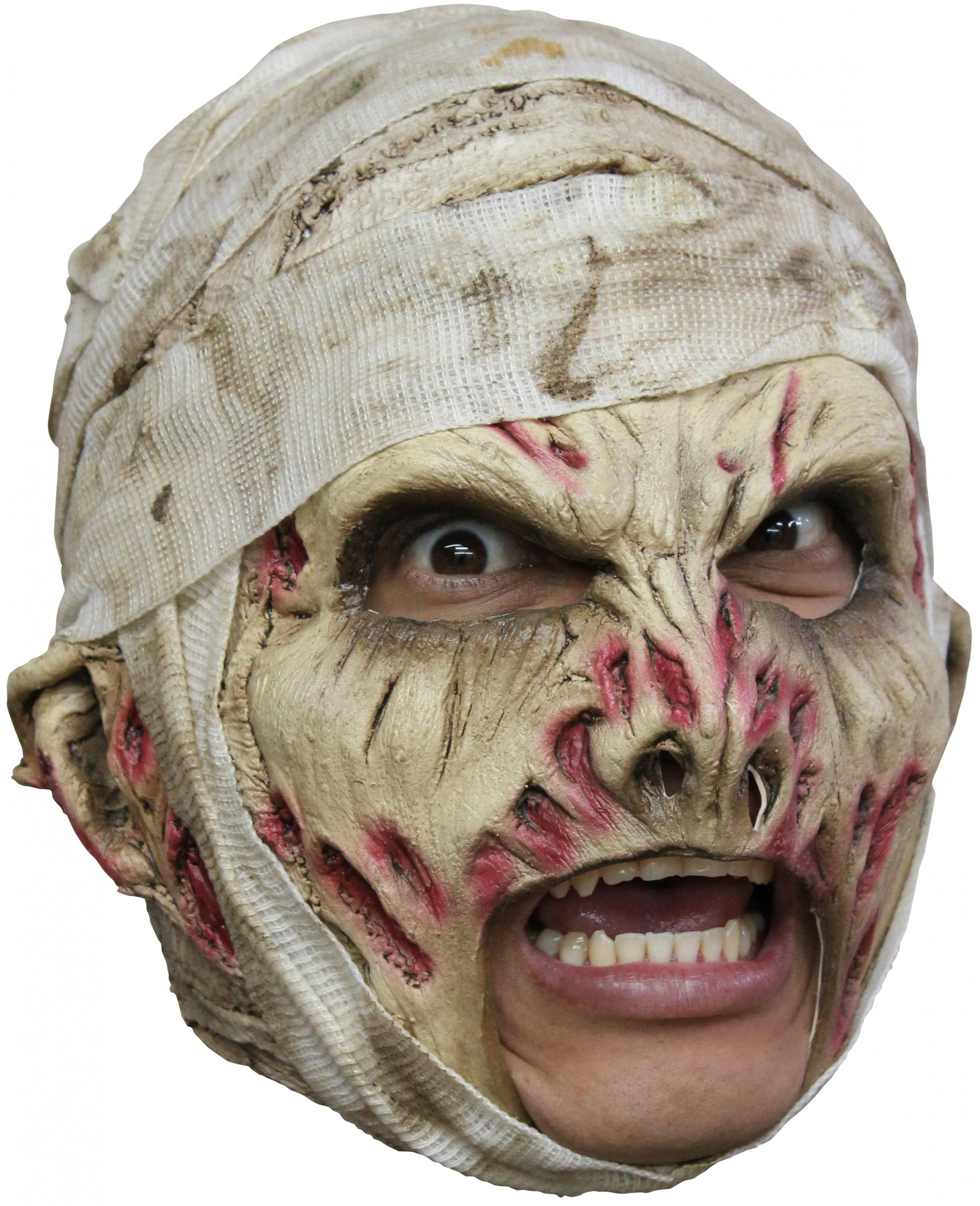 masque momie adulte halloween deguise toi achat de masques. Black Bedroom Furniture Sets. Home Design Ideas