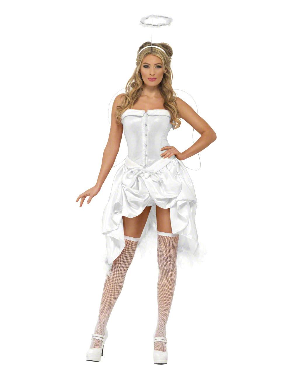 robes feminines deguisement adulte ange. Black Bedroom Furniture Sets. Home Design Ideas