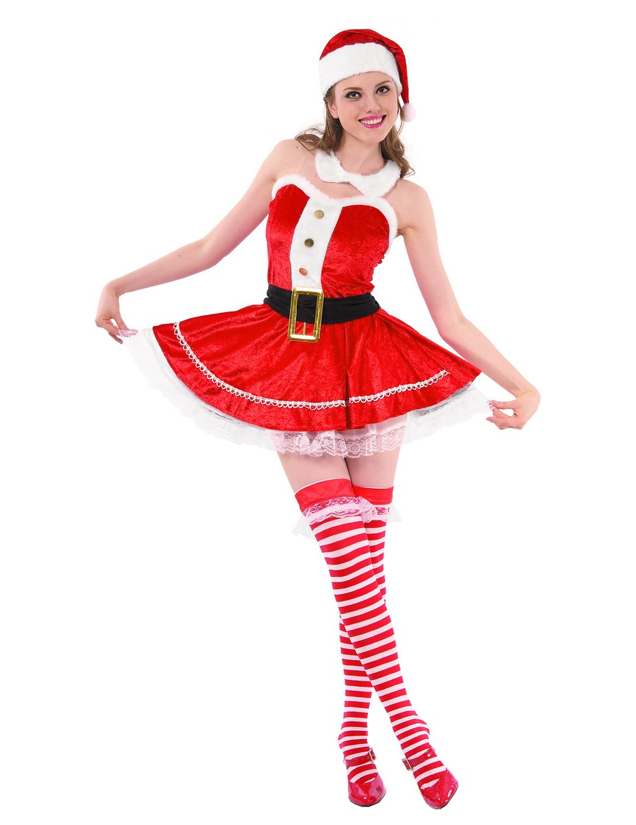 sexy santa costume. Black Bedroom Furniture Sets. Home Design Ideas