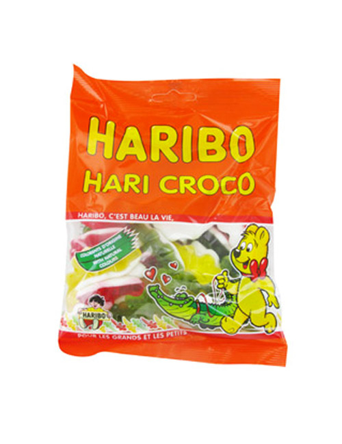 sachet bonbons haribo croco deguise toi achat de decoration animation. Black Bedroom Furniture Sets. Home Design Ideas