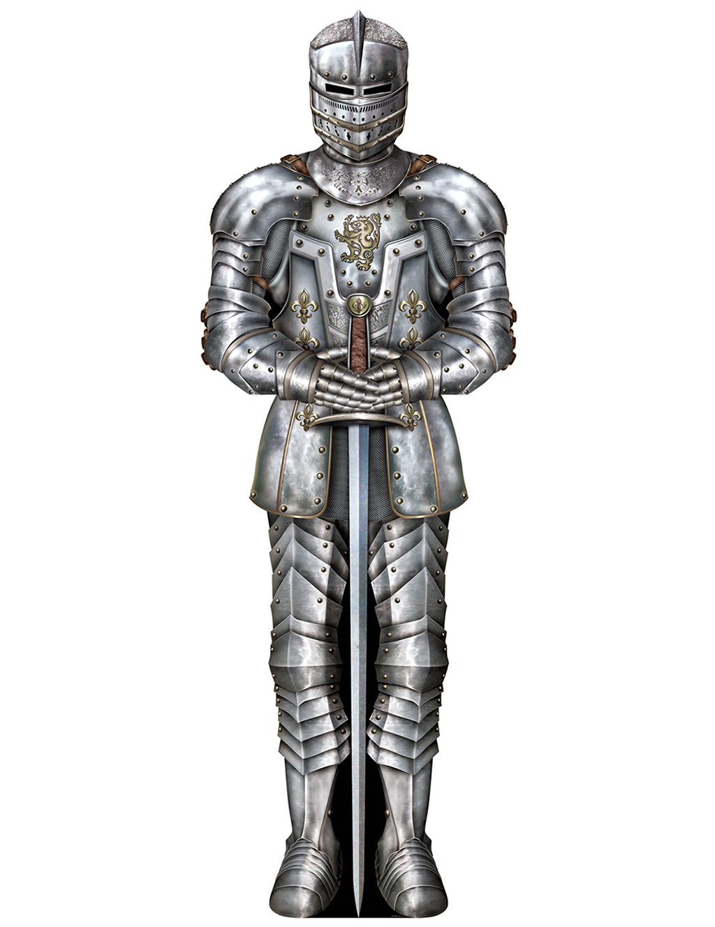 Knight in armor decoration for Armor decoration