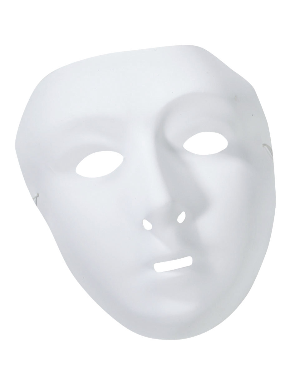 Masque blanc d corer femme for Decorer un masque blanc