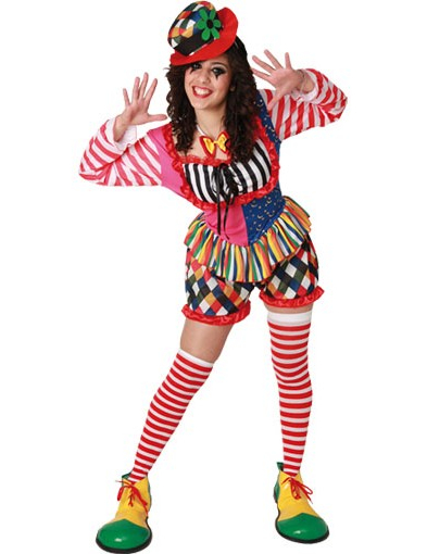 buntes clowns kost m f r damen kost me f r erwachsene. Black Bedroom Furniture Sets. Home Design Ideas