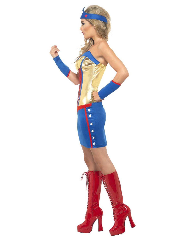 D guisement super h ros femme deguise toi achat de d guisements adultes - Liste de super heros femme ...