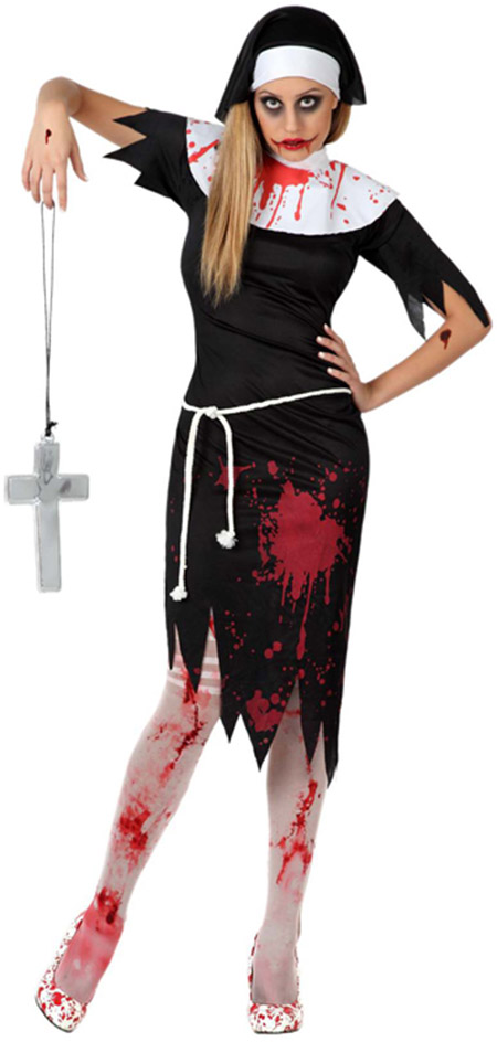 480bb95fa0b Déguisement religieuse zombie femme Halloween   Deguise-toi