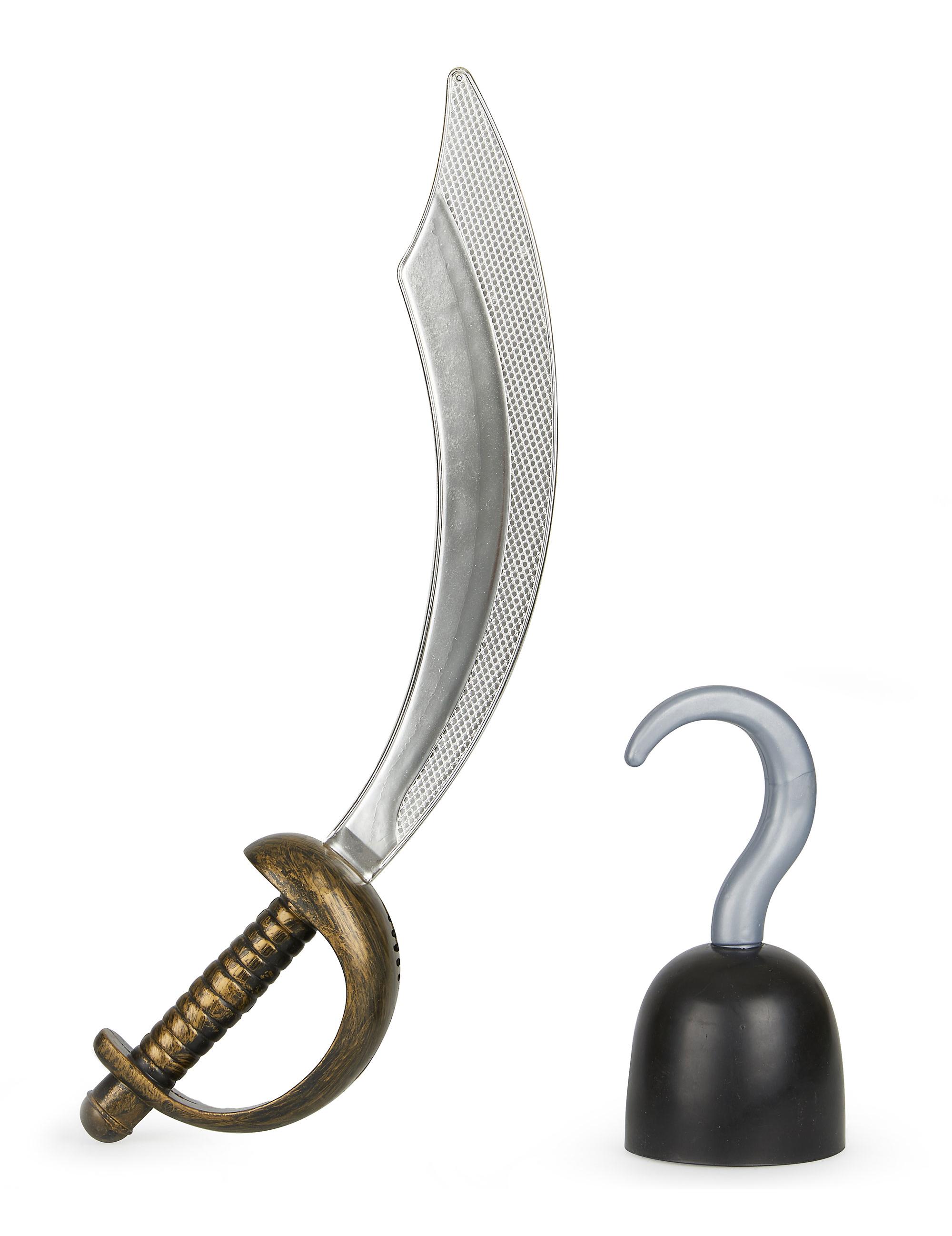 4b17e61f4de Kit épée et crochet de pirate   Deguise-toi
