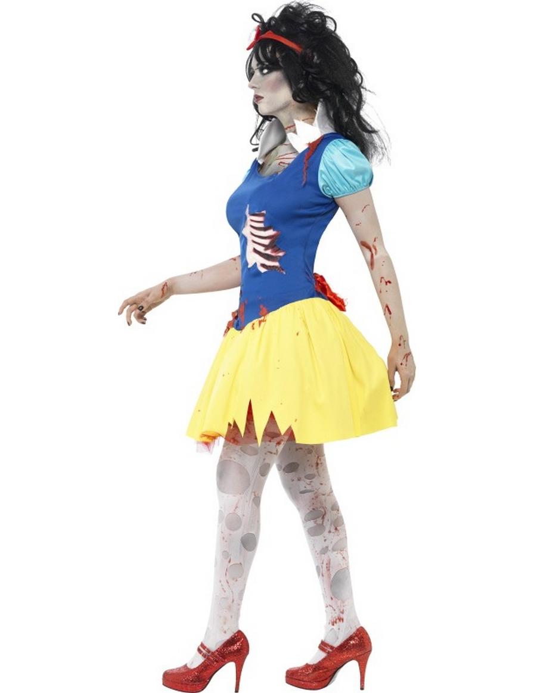 d guisement zombie princesse conte de f es femme halloween. Black Bedroom Furniture Sets. Home Design Ideas