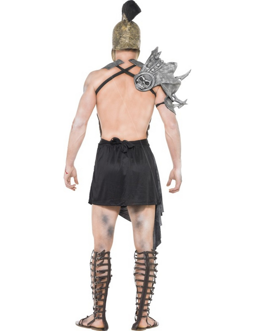 halloween zombie gladiator kost m f r herren kost me f r. Black Bedroom Furniture Sets. Home Design Ideas