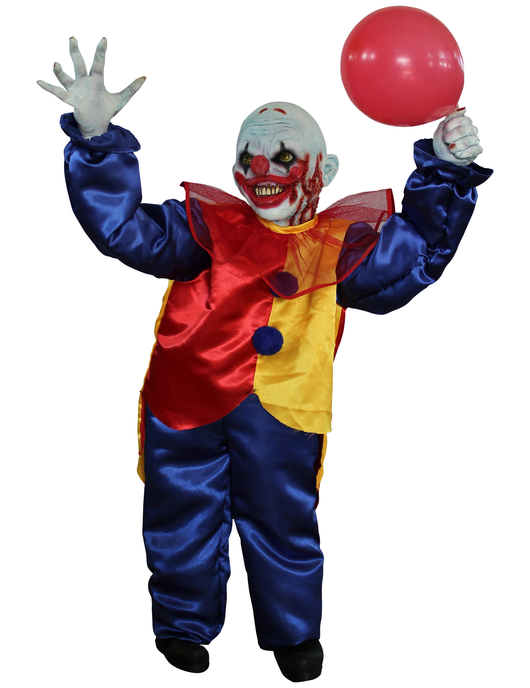 D coration clown nain halloween deguise toi achat de for Decoration fenetre clown