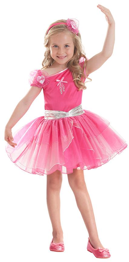 fuchsiafarbenes barbie ballerina kost m f r m dchen. Black Bedroom Furniture Sets. Home Design Ideas