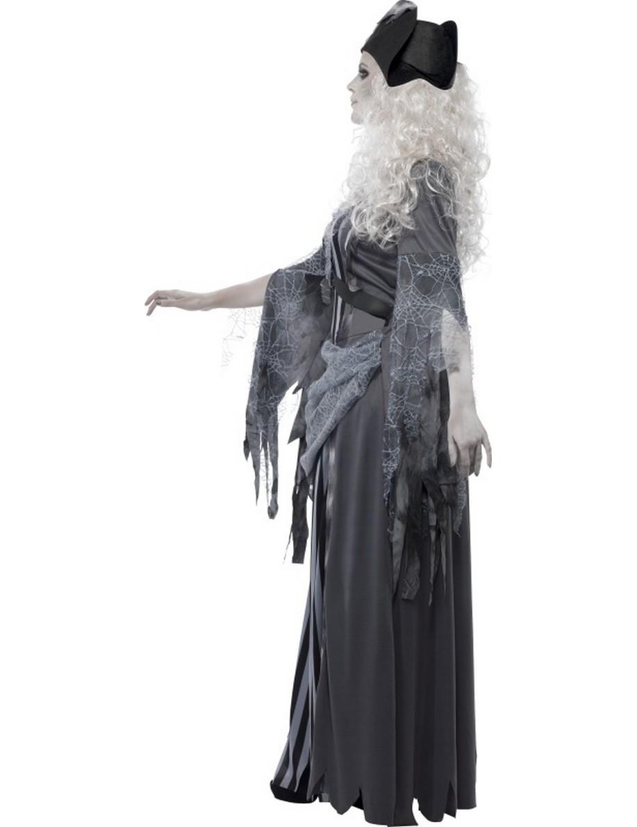 D guisement fant me pirate grise femme halloween deguise - Pirate fantome ...